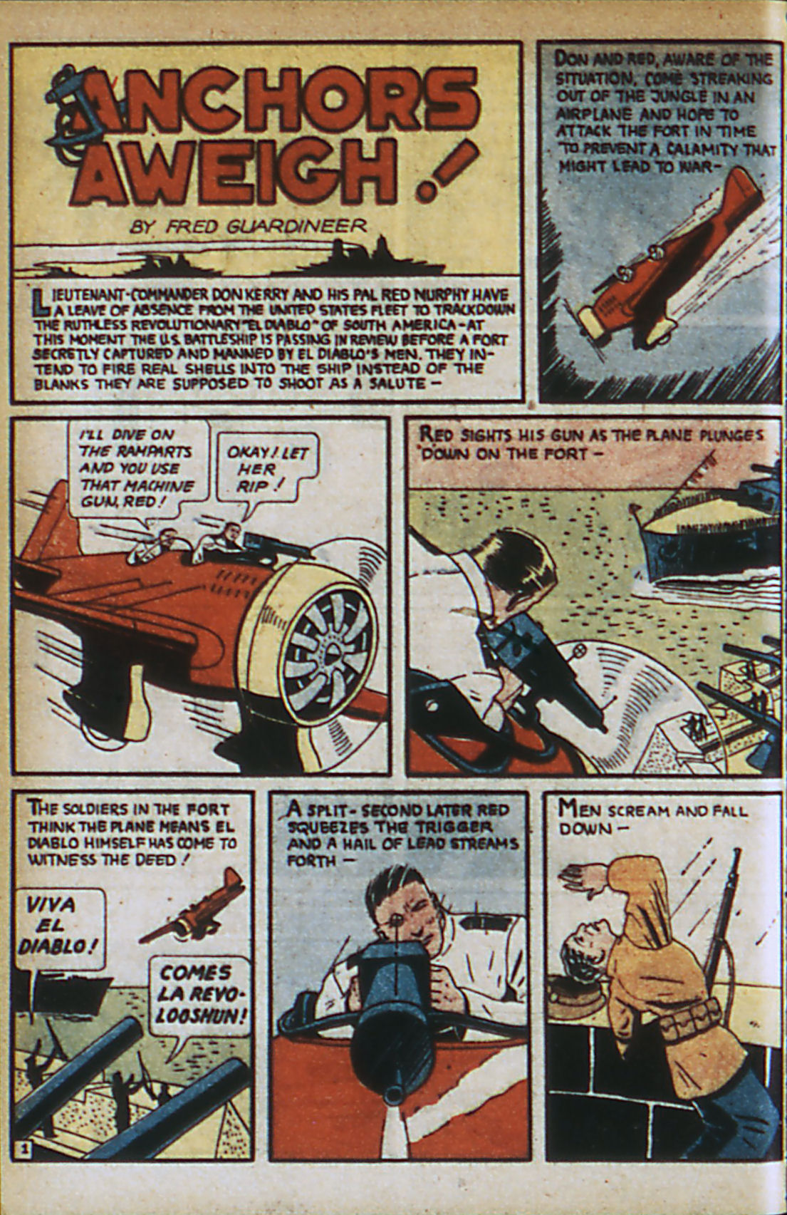Read online Adventure Comics (1938) comic -  Issue #37 - 61