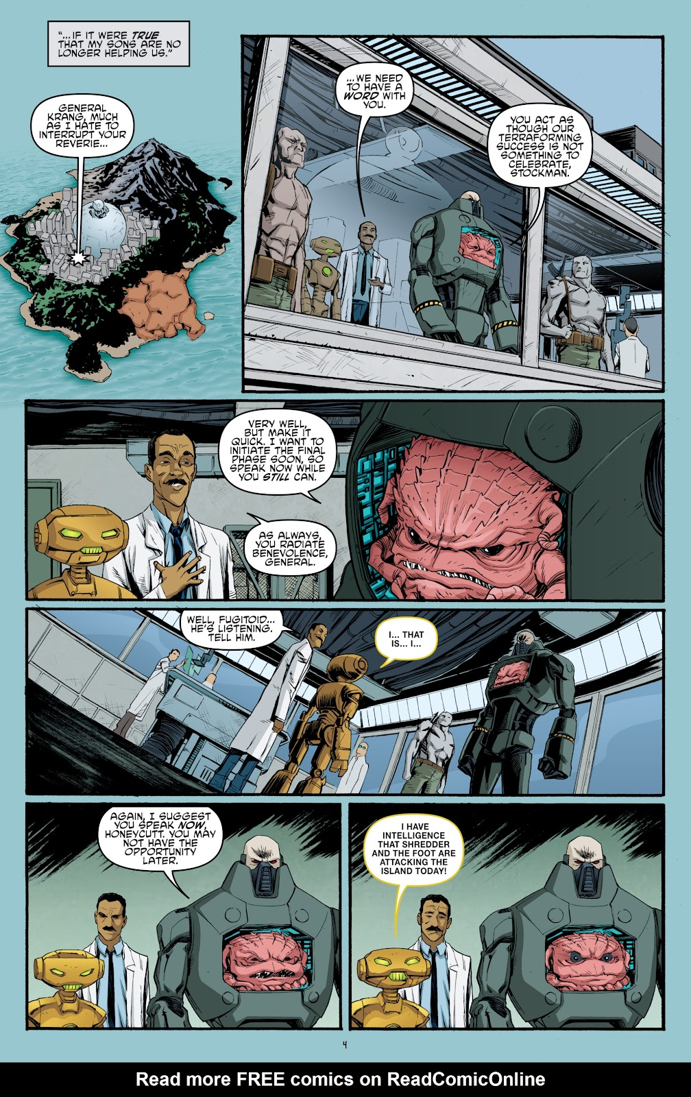 Read online Teenage Mutant Ninja Turtles: The IDW Collection comic -  Issue # TPB 5 (Part 3) - 90