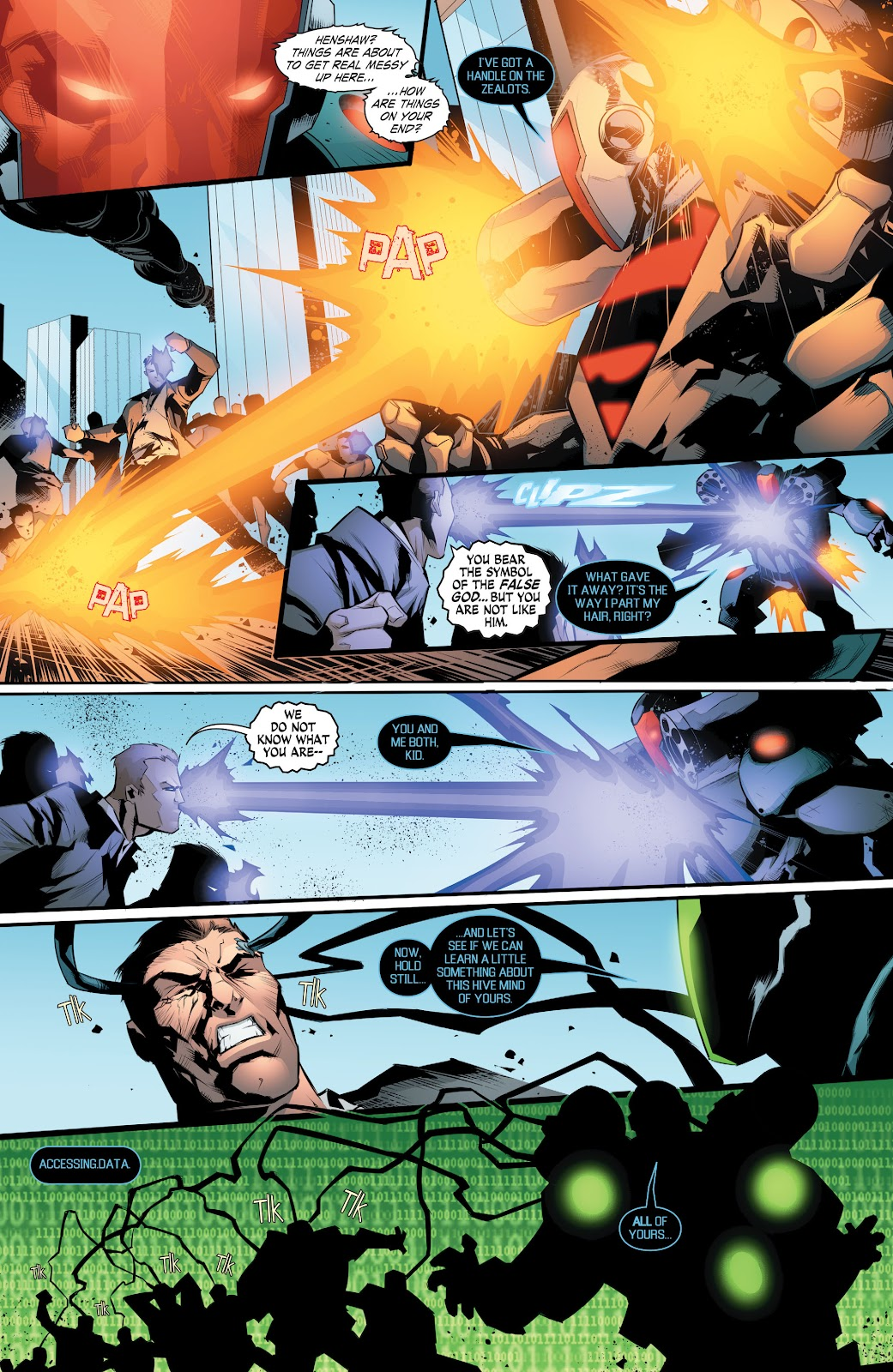 Read online Smallville Season 11 [II] comic -  Issue # TPB 8 - 148