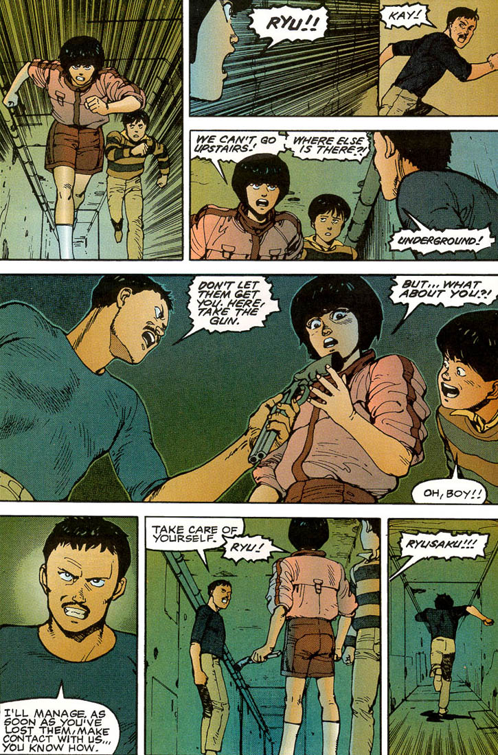 Read online Akira comic -  Issue #3 - 54