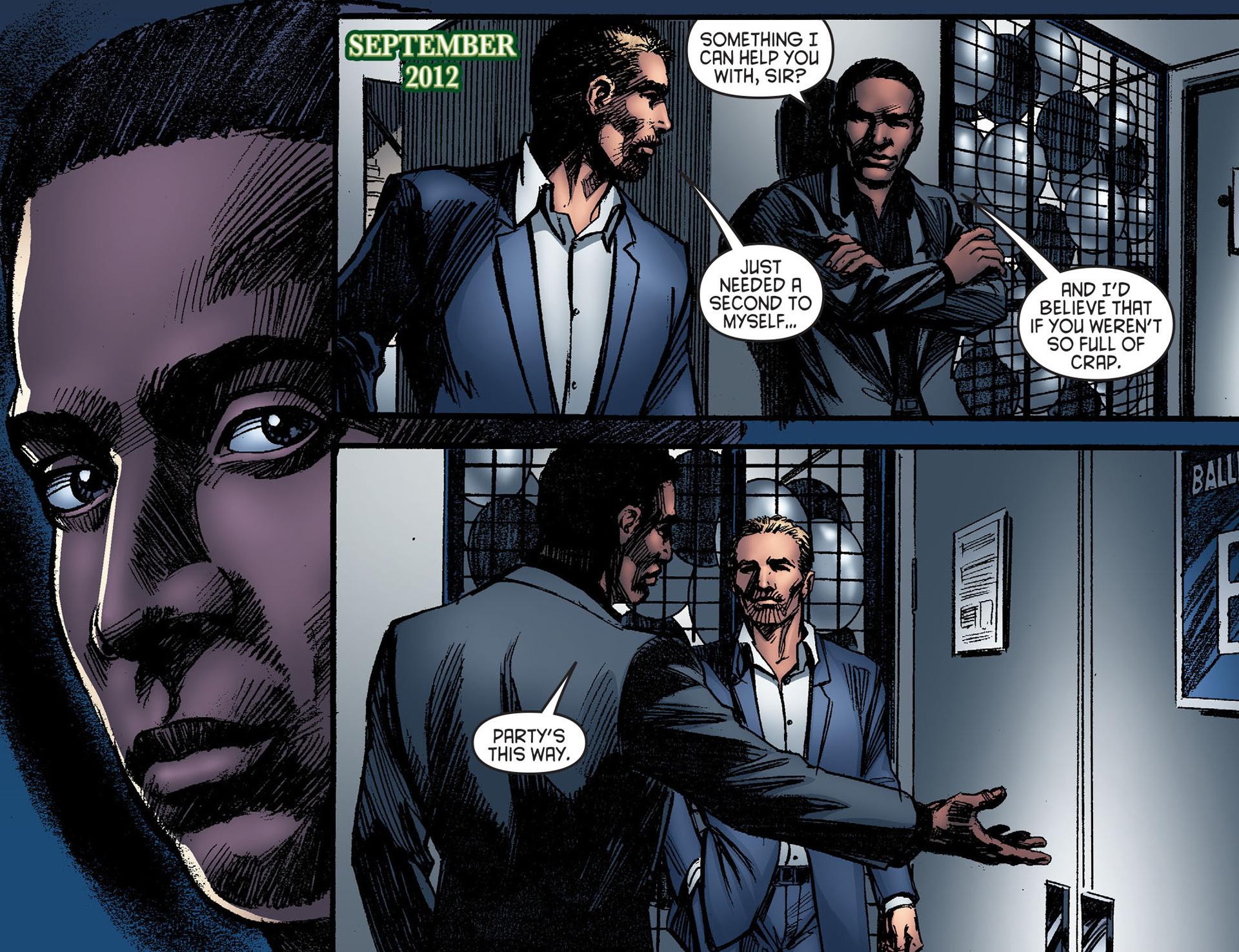 Read online Arrow [II] comic -  Issue #25 - 6