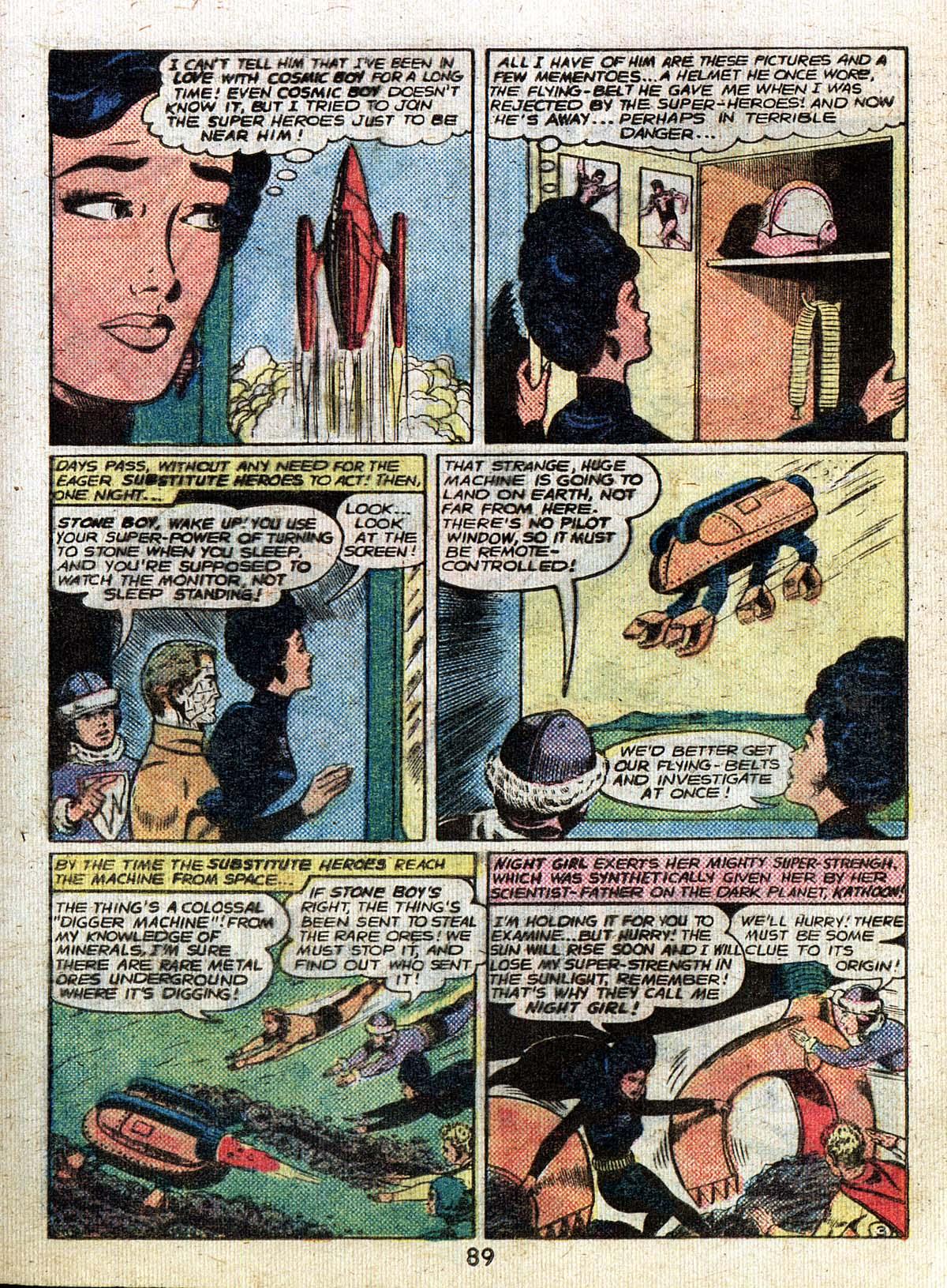 Read online Adventure Comics (1938) comic -  Issue #500 - 89