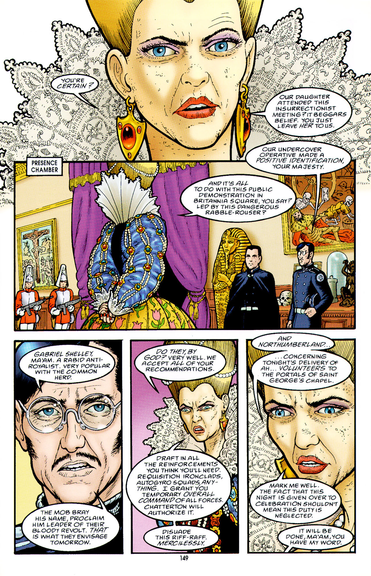 Read online Heart of Empire comic -  Issue #5 - 25
