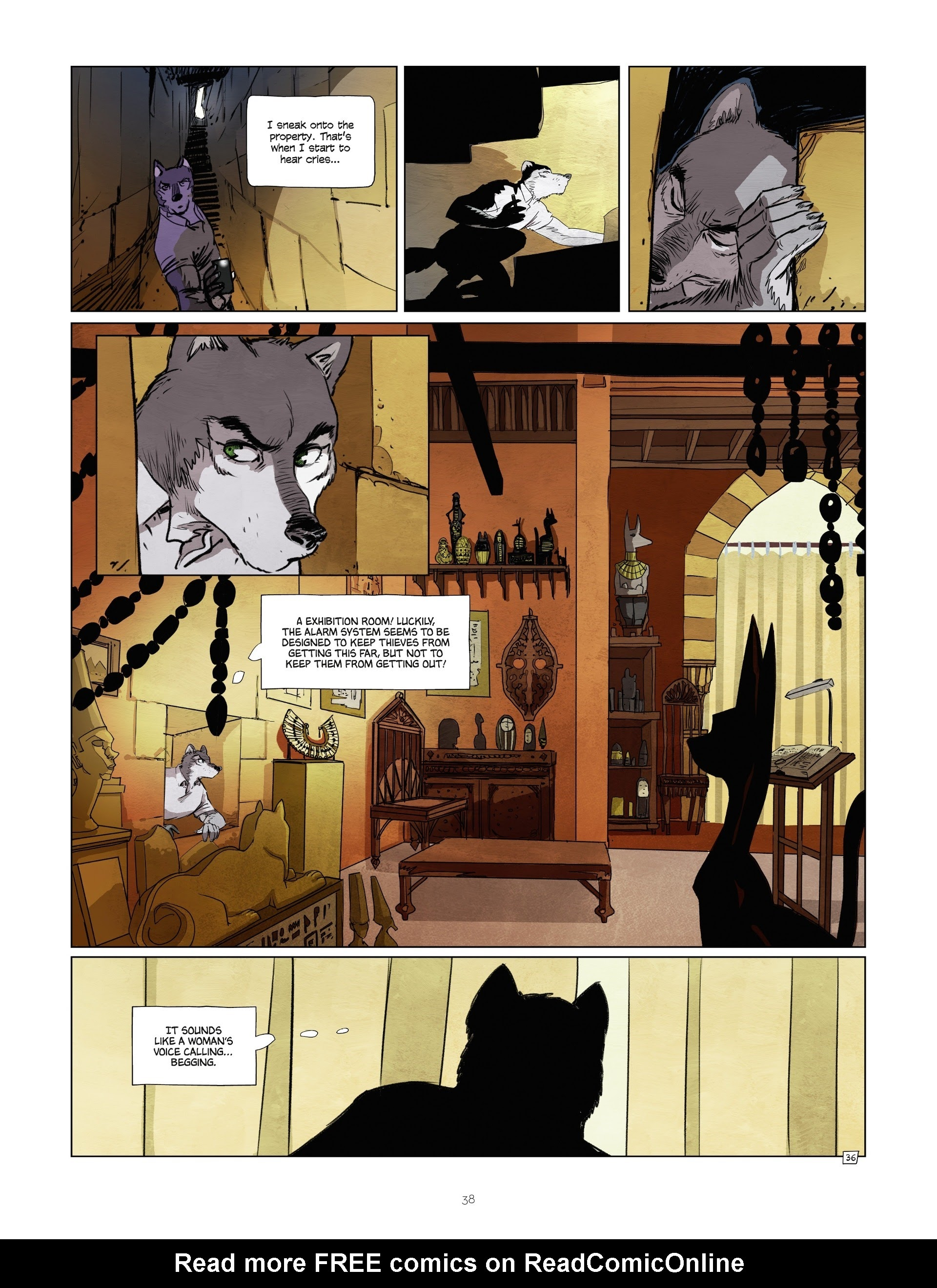 Read online Jack Wolfgang comic -  Issue #3 - 40