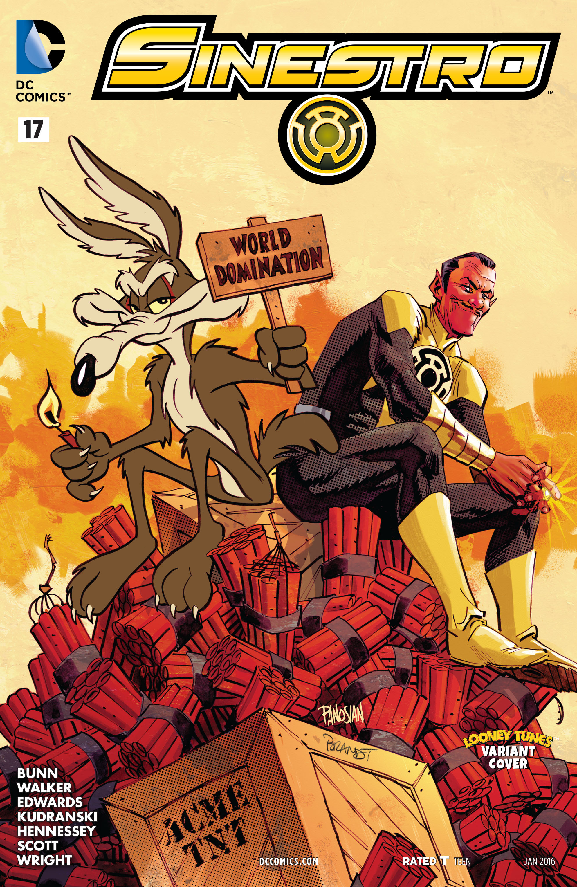 Read online Sinestro comic -  Issue #17 - 3