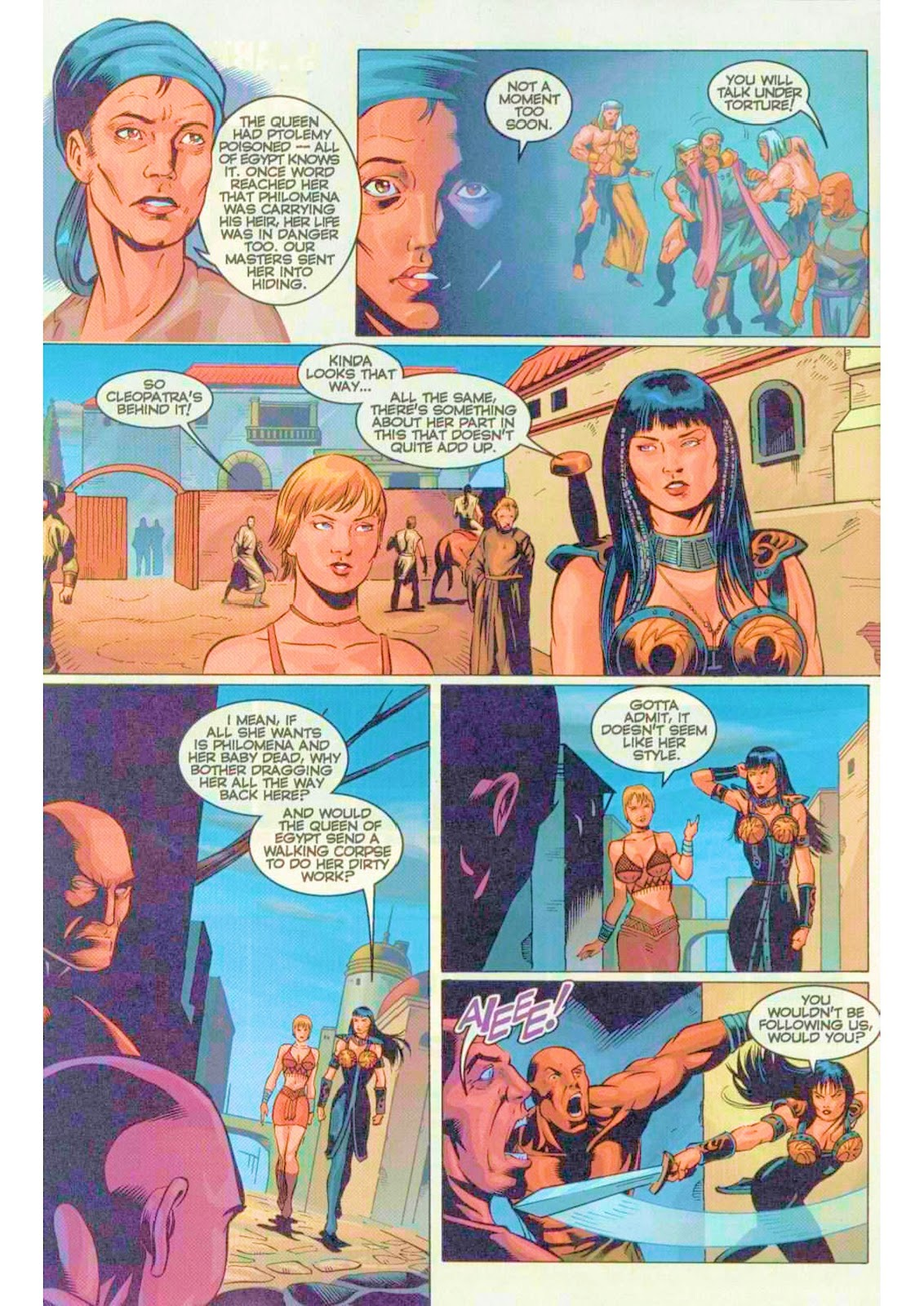 Xena: Warrior Princess (1999) Issue #5 #5 - English 18