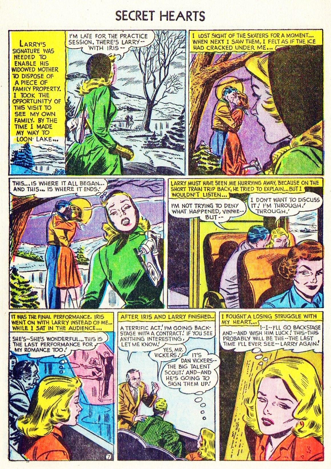Read online Secret Hearts comic -  Issue #15 - 32