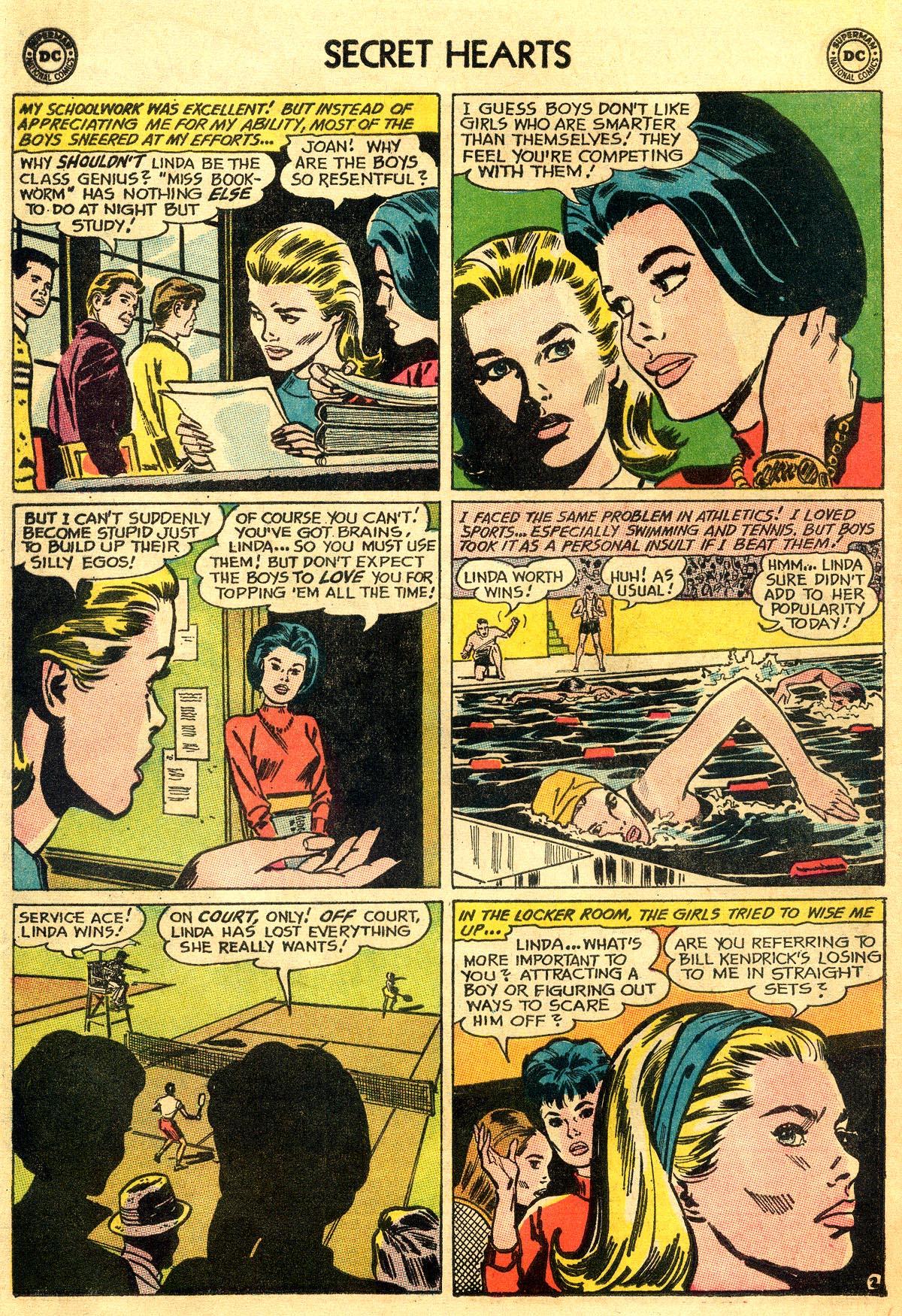 Read online Secret Hearts comic -  Issue #93 - 4