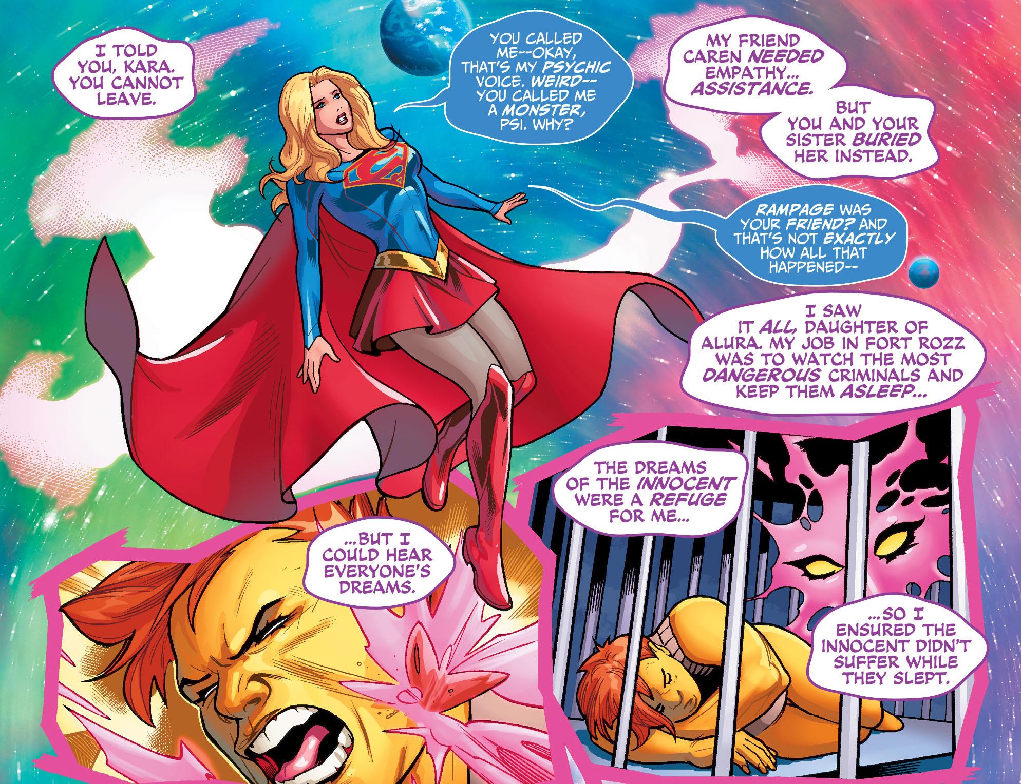Read online Adventures of Supergirl comic -  Issue #7 - 17