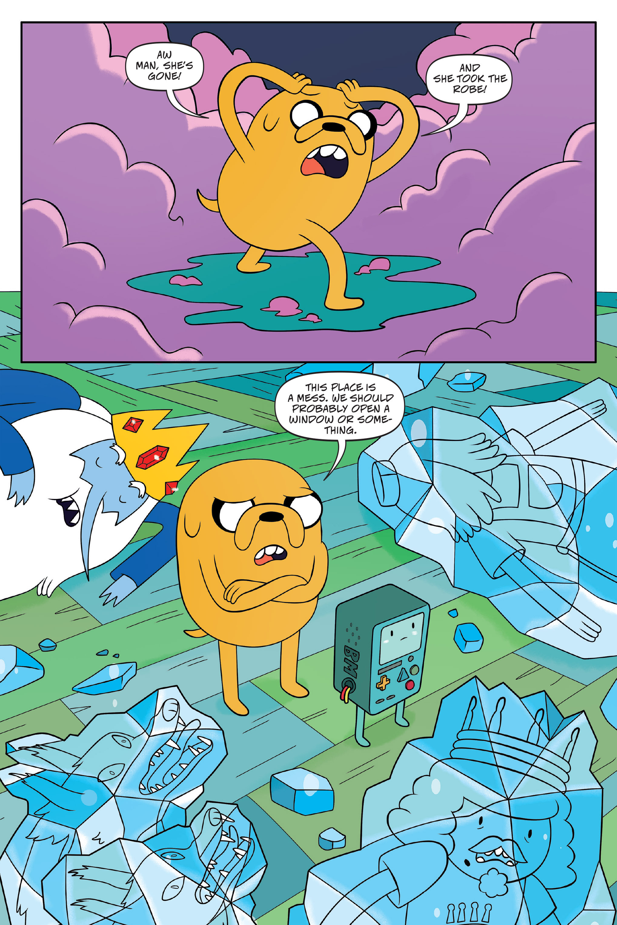 Read online Adventure Time: The Four Castles comic -  Issue #Adventure Time: The Four Castles TPB - 132