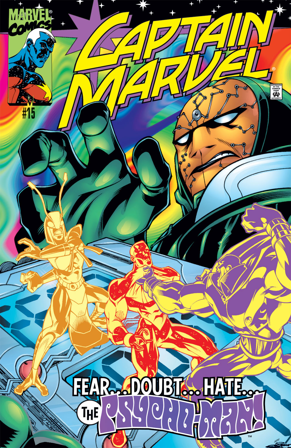 Captain Marvel (1999) 15 Page 1