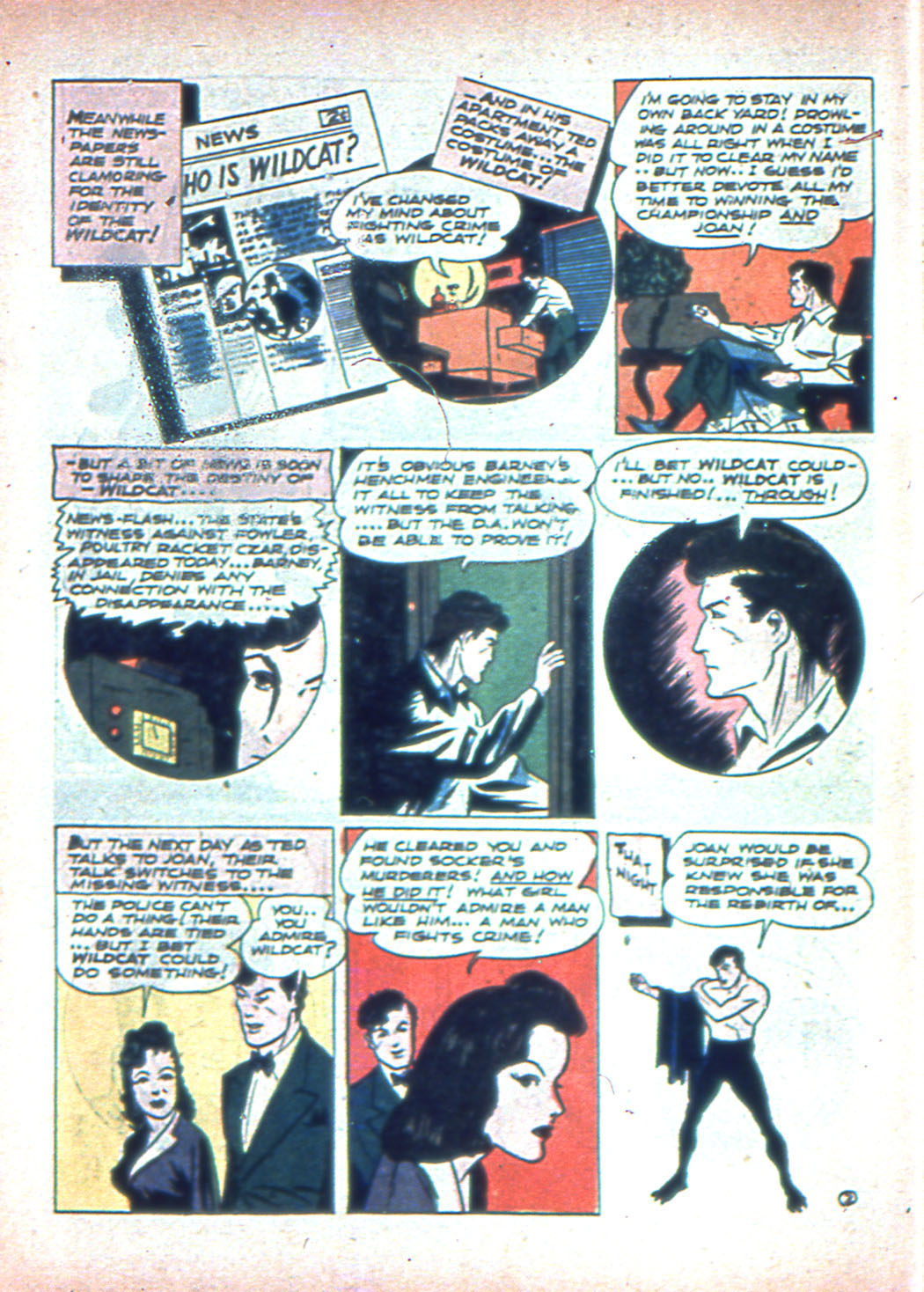 Read online Sensation (Mystery) Comics comic -  Issue #2 - 58