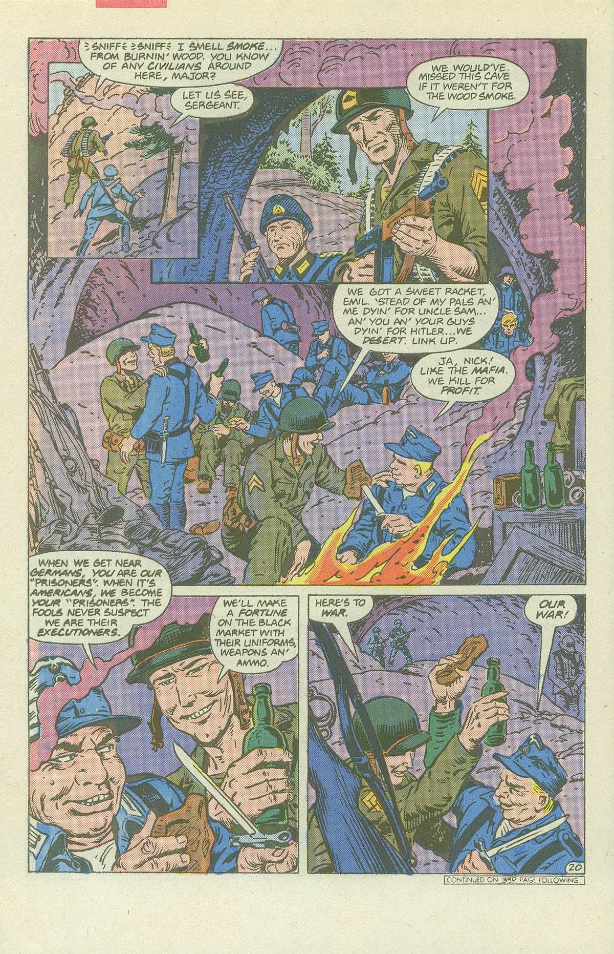Read online Sgt. Rock comic -  Issue #420 - 27