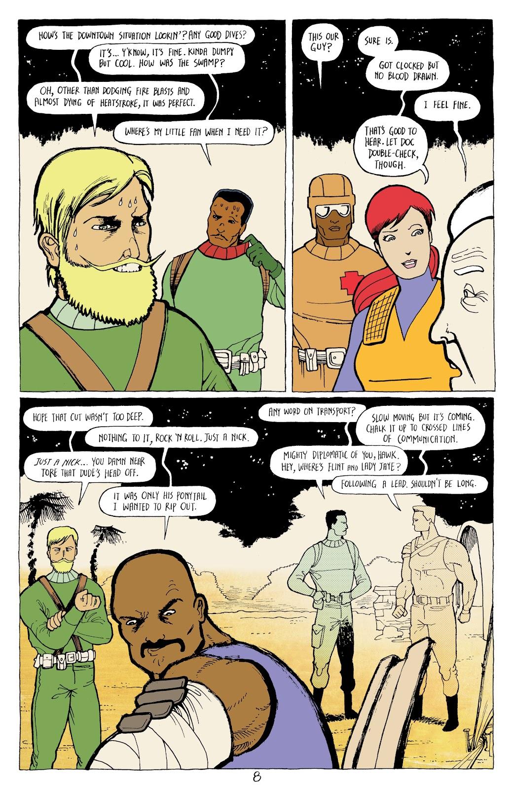 Read online G.I. Joe: Sierra Muerte comic -  Issue #2 - 10