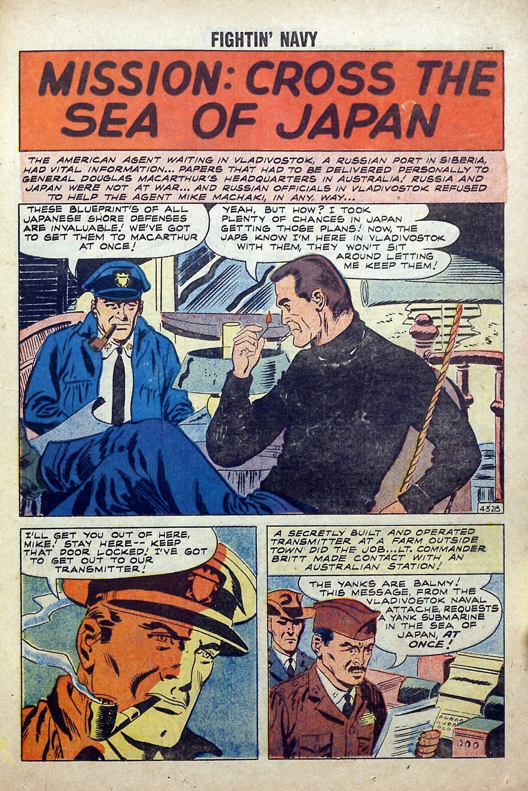 Read online Fightin' Navy comic -  Issue #84 - 23