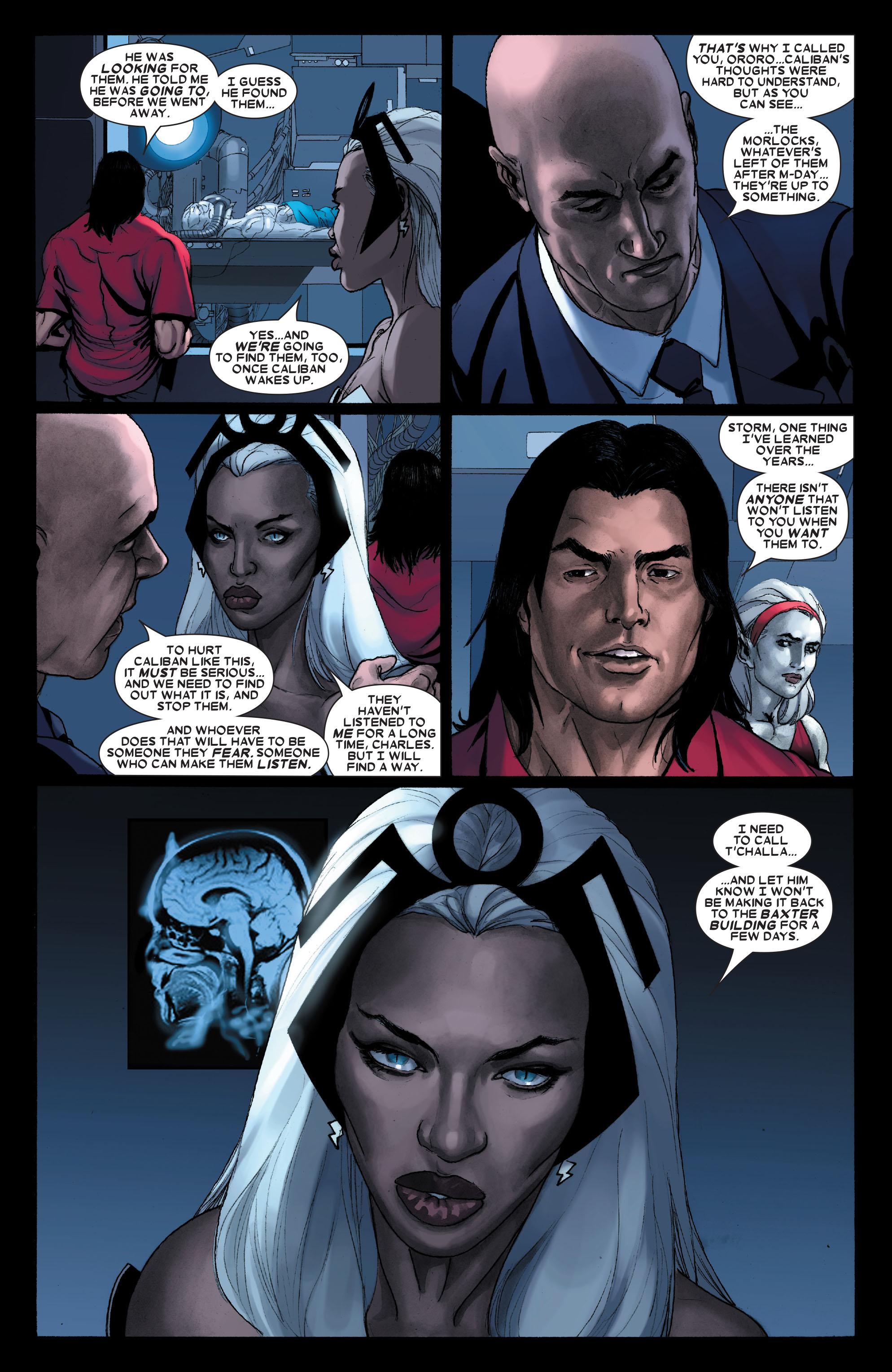 Read online Uncanny X-Men (1963) comic -  Issue #487 - 21