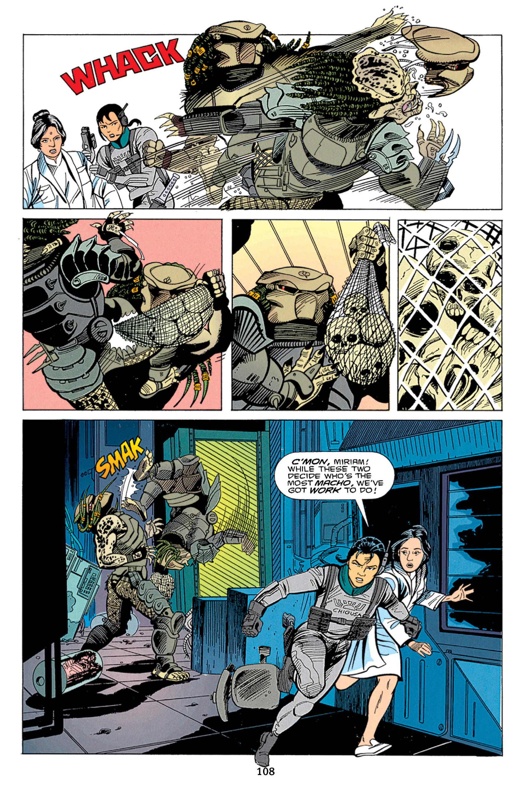 Read online Aliens vs. Predator Omnibus comic -  Issue # _TPB 1 Part 2 - 7