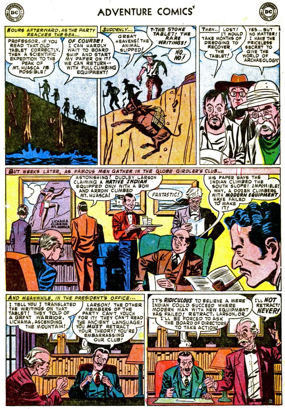 Read online Adventure Comics (1938) comic -  Issue #184 - 35
