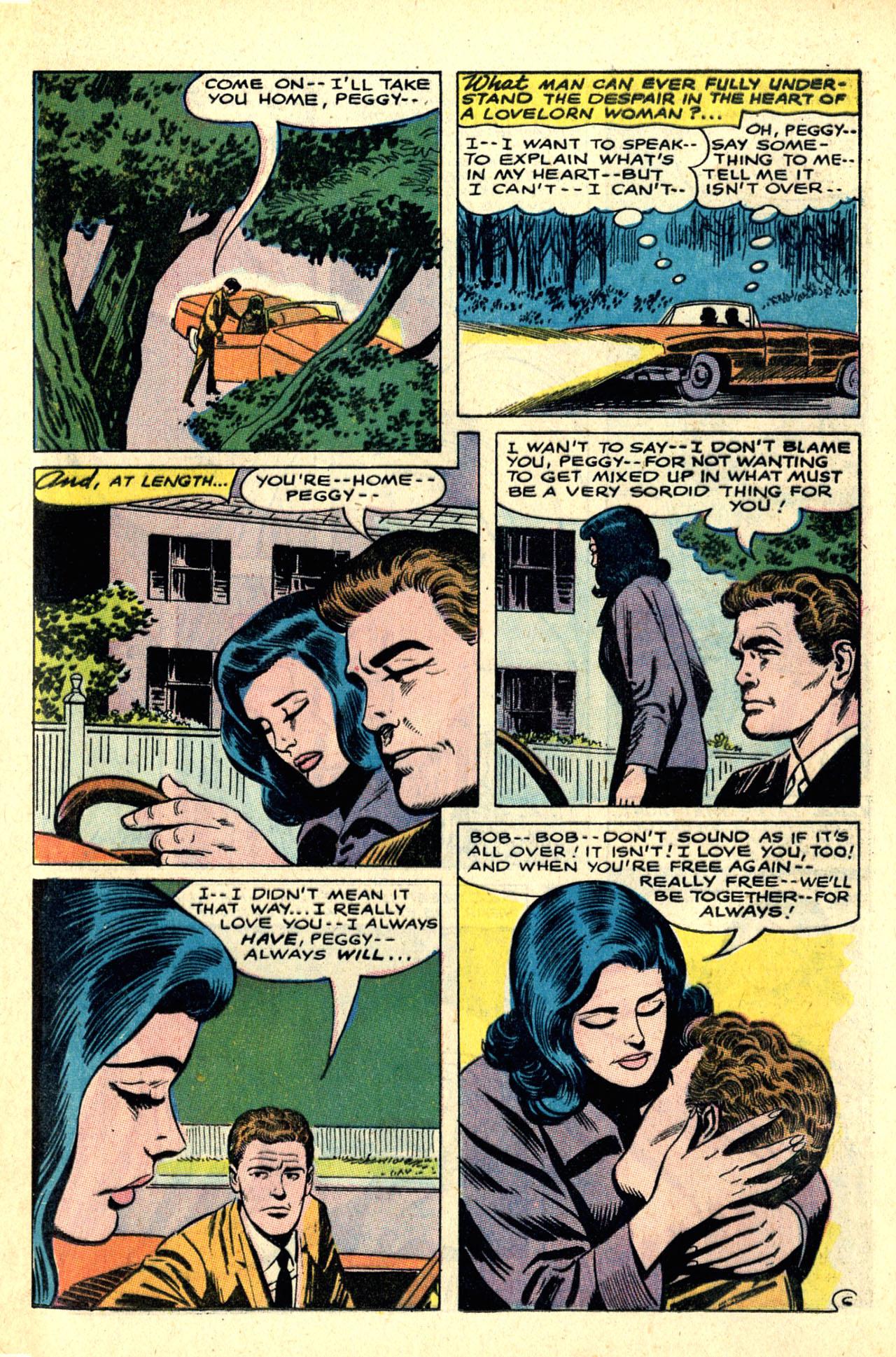 Read online Secret Hearts comic -  Issue #121 - 25