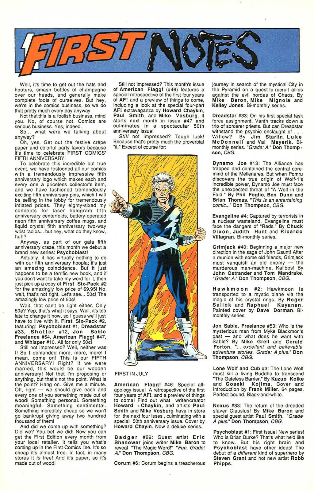 Read online American Flagg! comic -  Issue #46 - 14