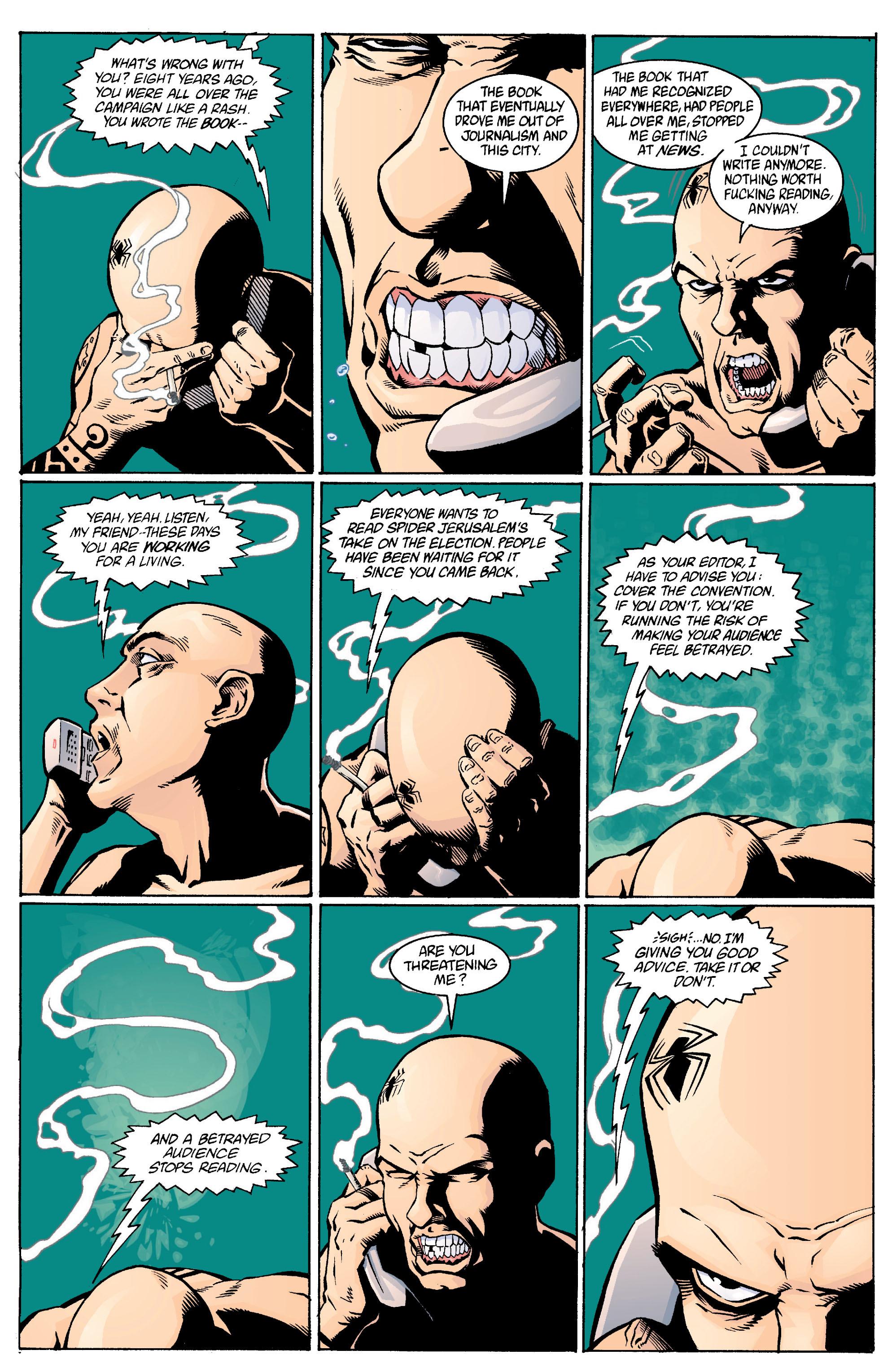 Read online Transmetropolitan comic -  Issue #13 - 13
