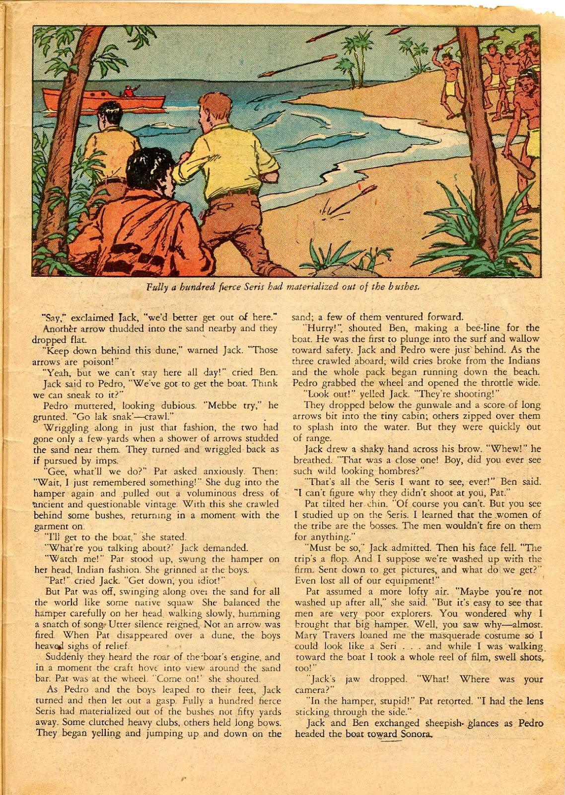 Read online Famous Funnies comic -  Issue #49 - 61