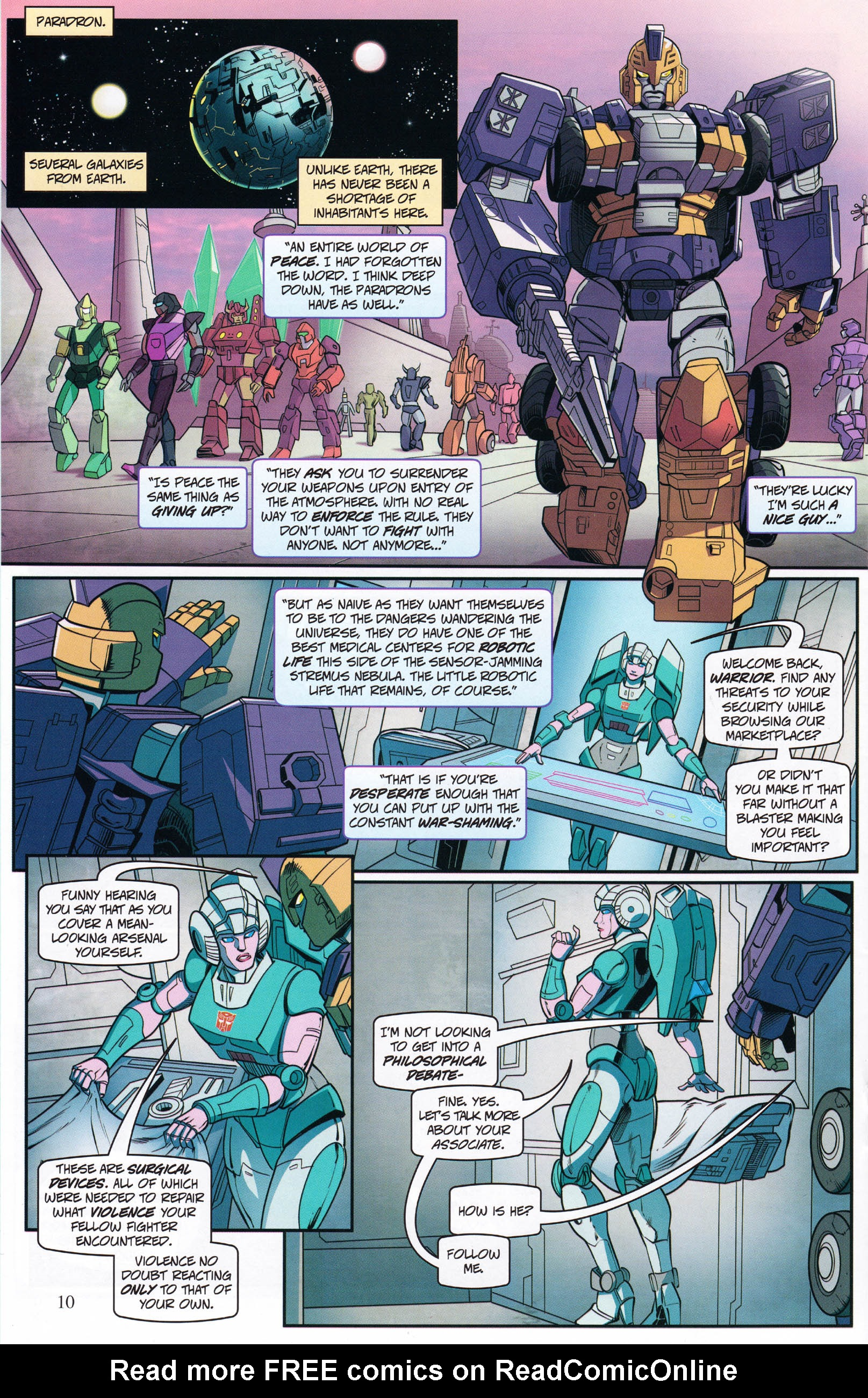Read online Transformers: Collectors' Club comic -  Issue #68 - 10