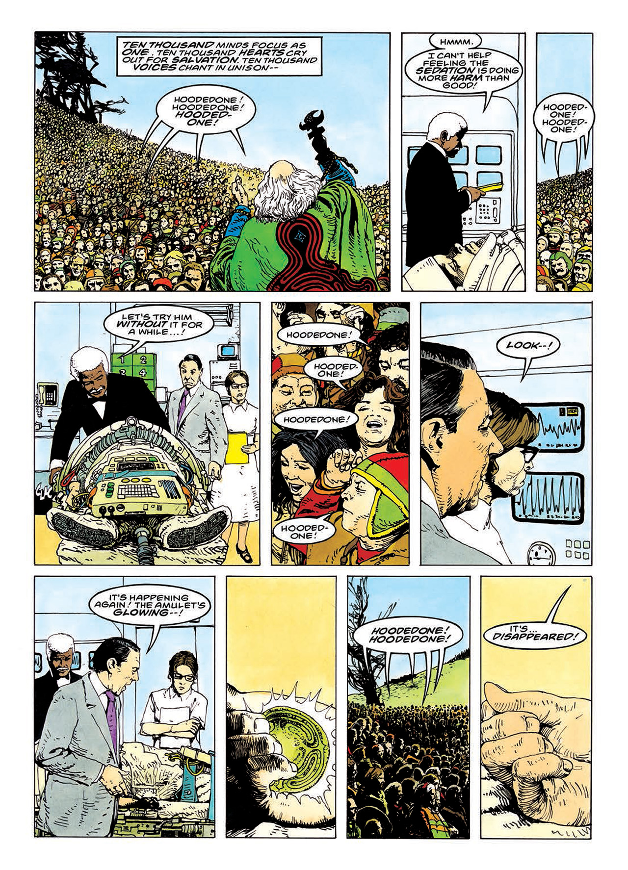 Read online Mazeworld comic -  Issue # TPB - 129