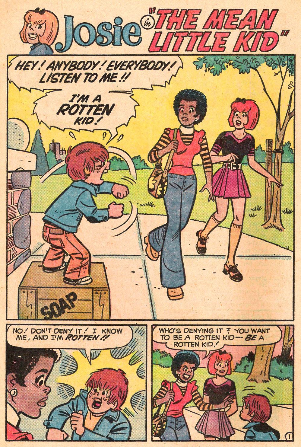 Read online She's Josie comic -  Issue #69 - 20