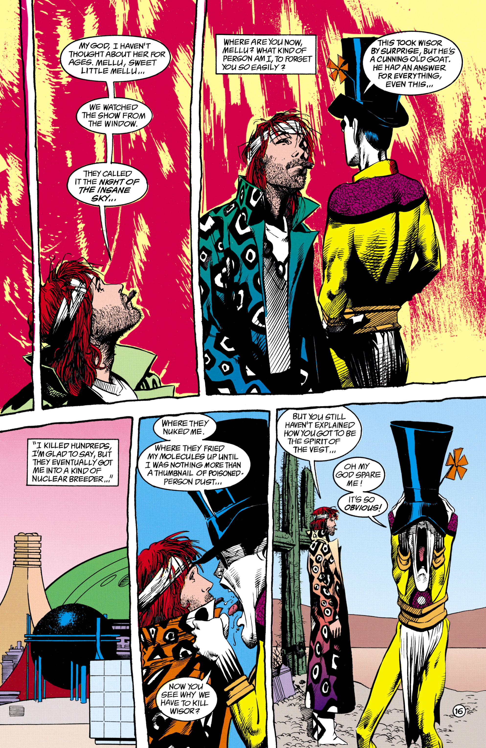 Read online Shade, the Changing Man comic -  Issue #16 - 16