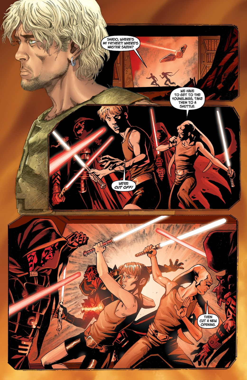 Read online Star Wars Legends: Legacy - Epic Collection comic -  Issue # TPB 1 (Part 2) - 19