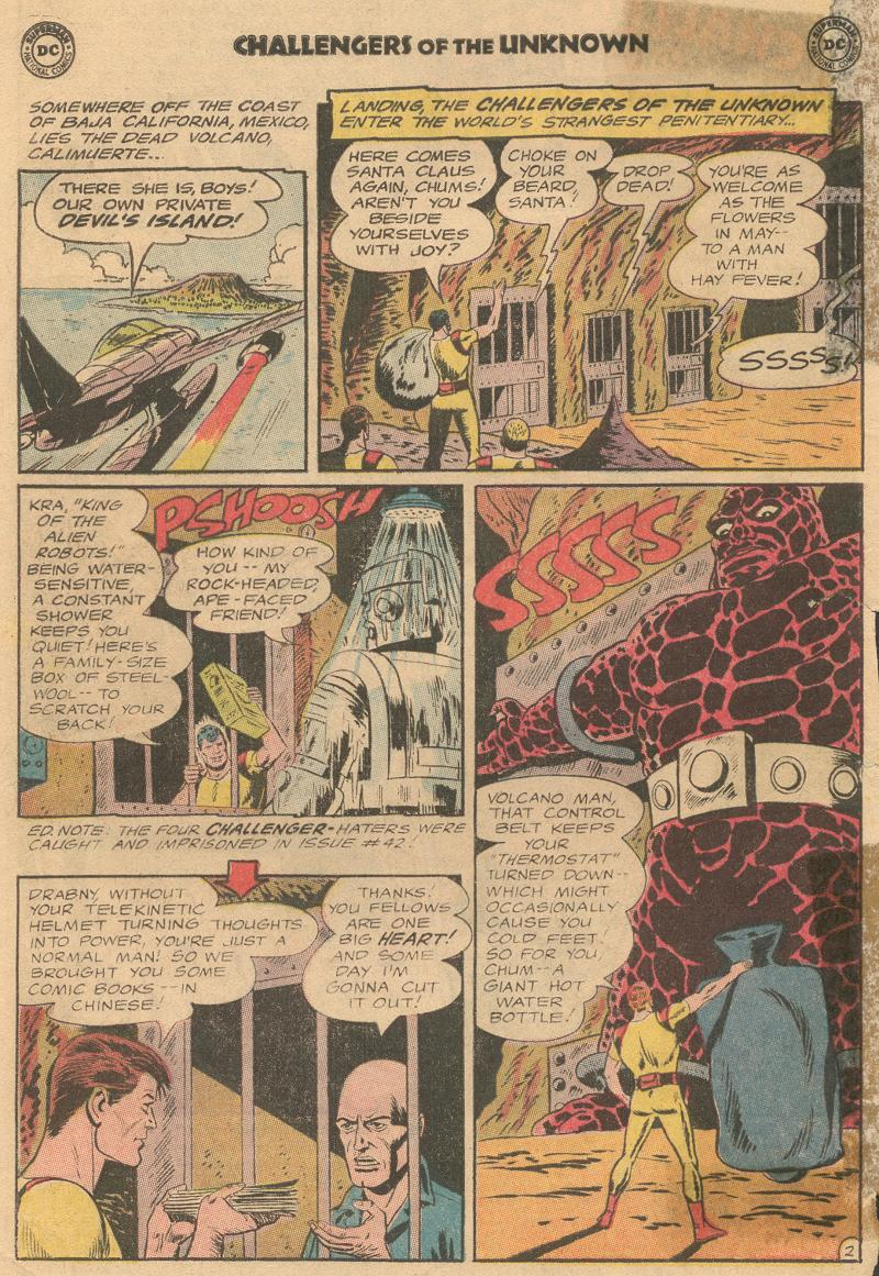 Challengers of the Unknown (1958) issue 45 - Page 4