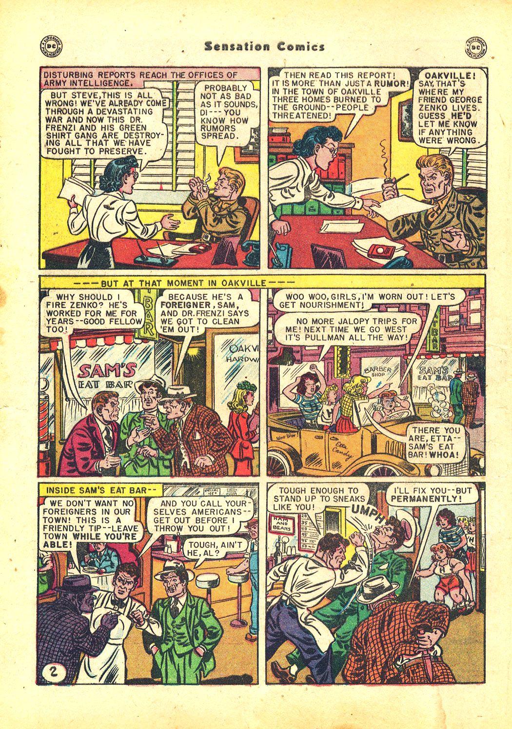 Read online Sensation (Mystery) Comics comic -  Issue #81 - 4