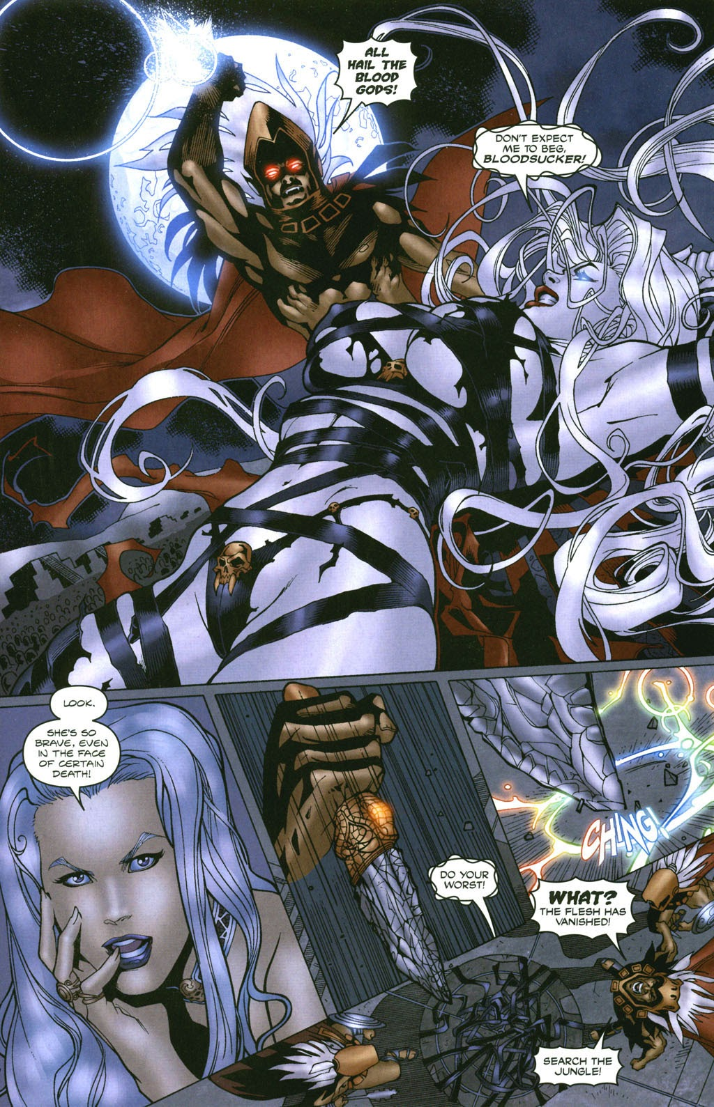 Read online Lady Death: The Wicked comic -  Issue #1 - 19