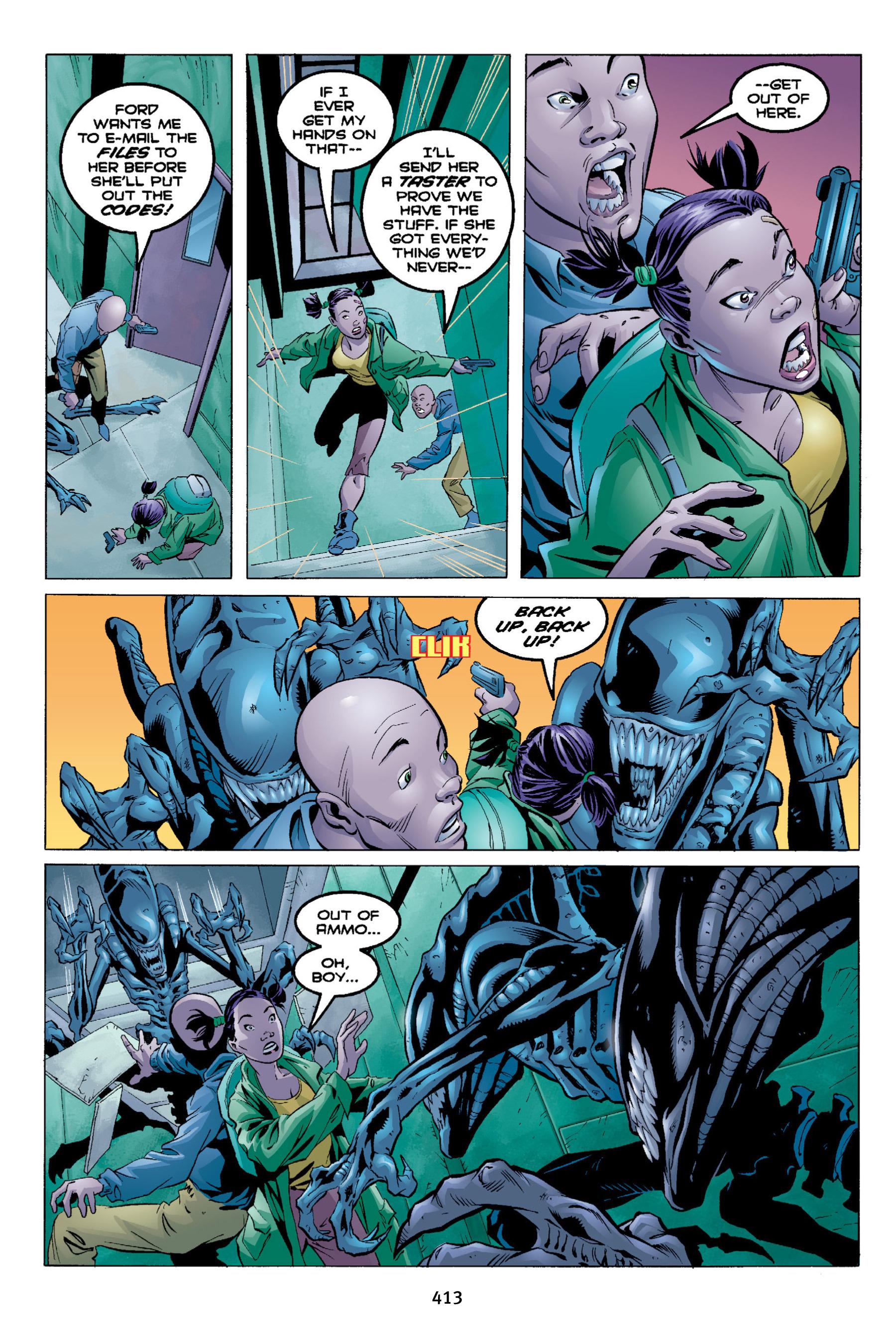 Read online Aliens vs. Predator Omnibus comic -  Issue # _TPB 2 Part 4 - 77