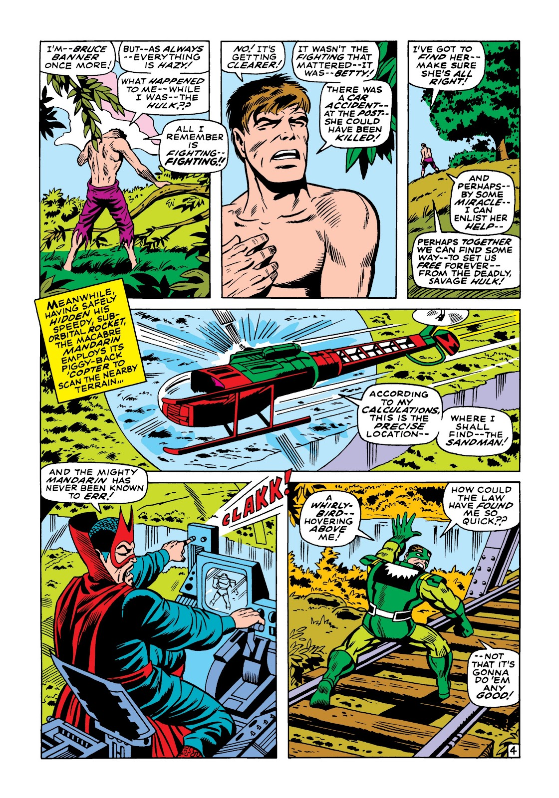 Read online Marvel Masterworks: The Incredible Hulk comic -  Issue # TPB 5 (Part 1) - 73