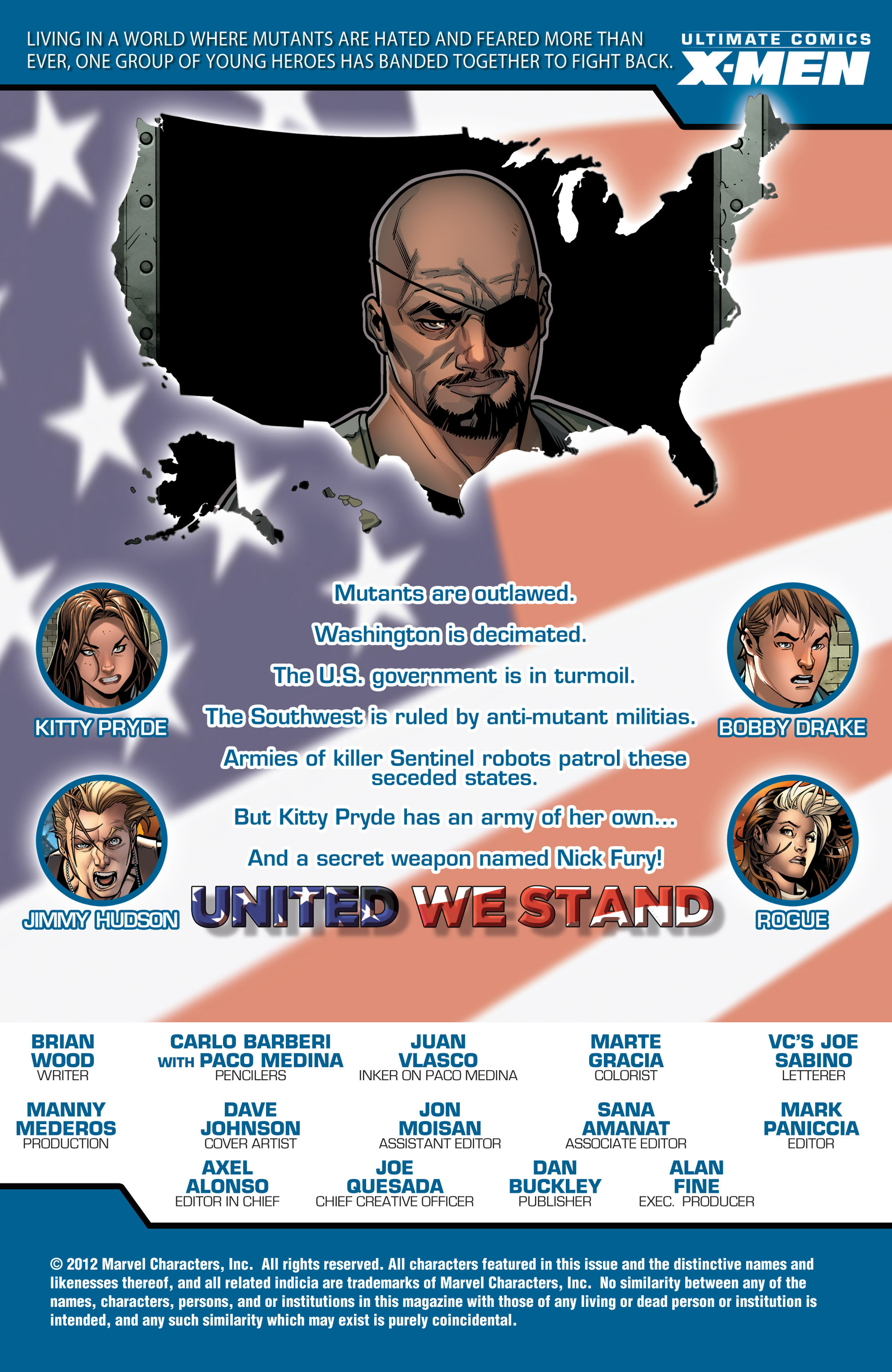 Read online Ultimate Comics X-Men comic -  Issue #16 - 2