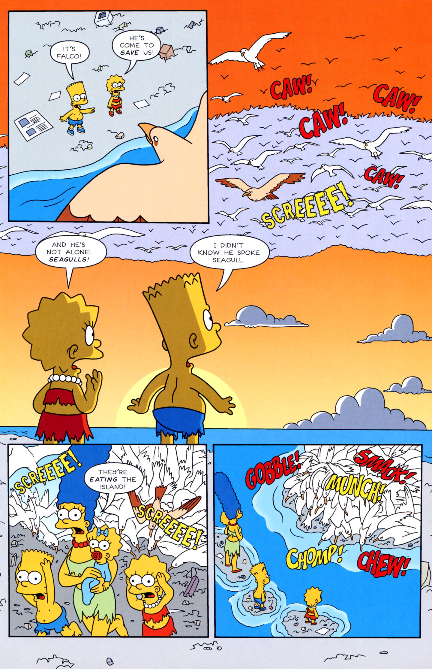 Read online Simpsons Illustrated (1991) comic -  Issue #3 - 19