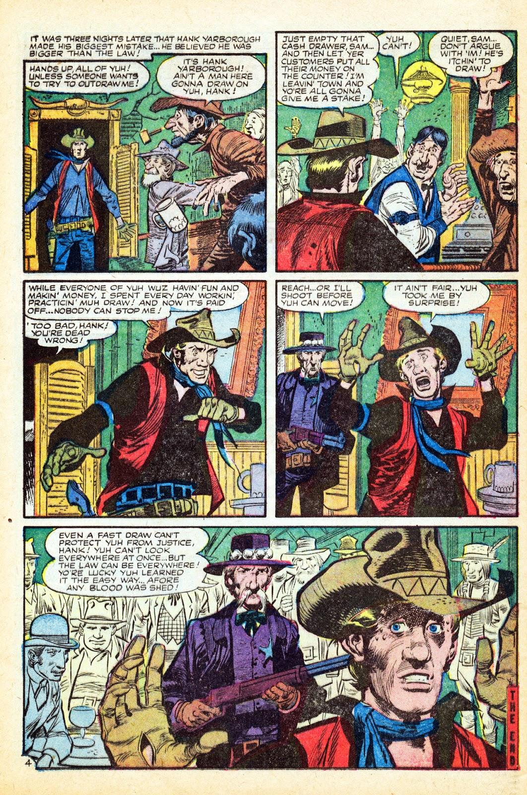 Gunsmoke Western issue 37 - Page 24
