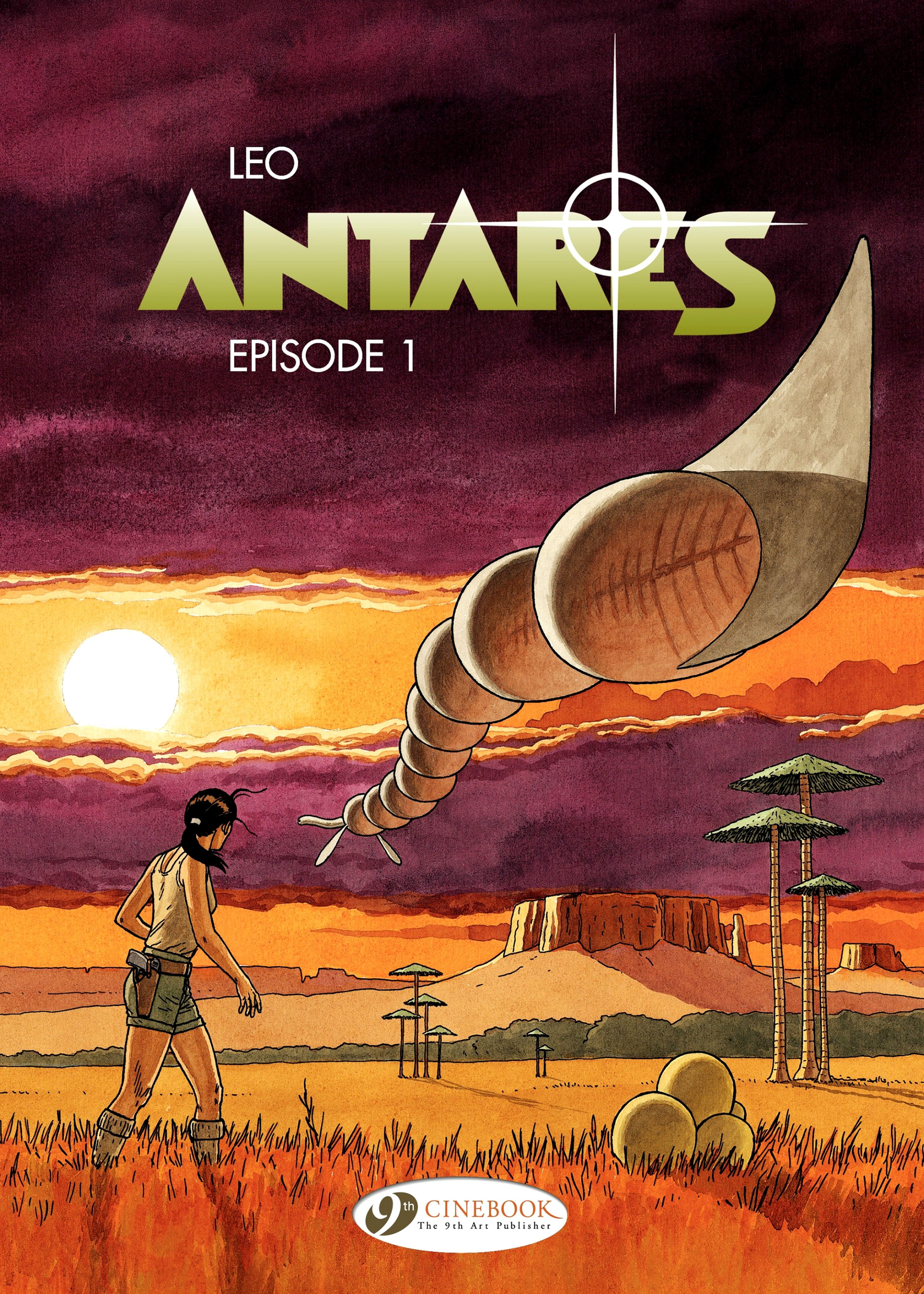 Read online Antares comic -  Issue #1 - 1