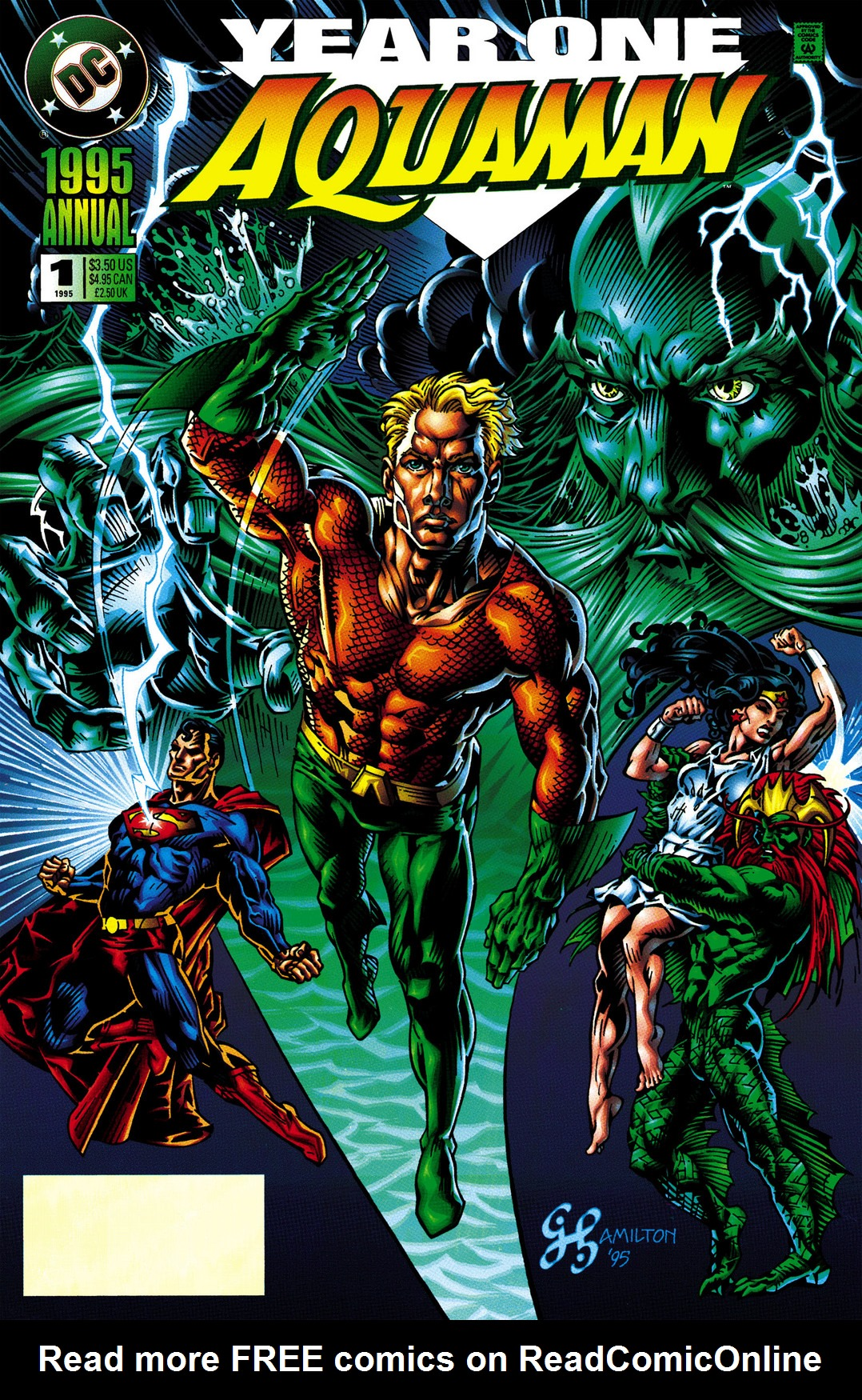 Read online Aquaman (1994) comic -  Issue #Aquaman (1994) _Annual 1 - 1