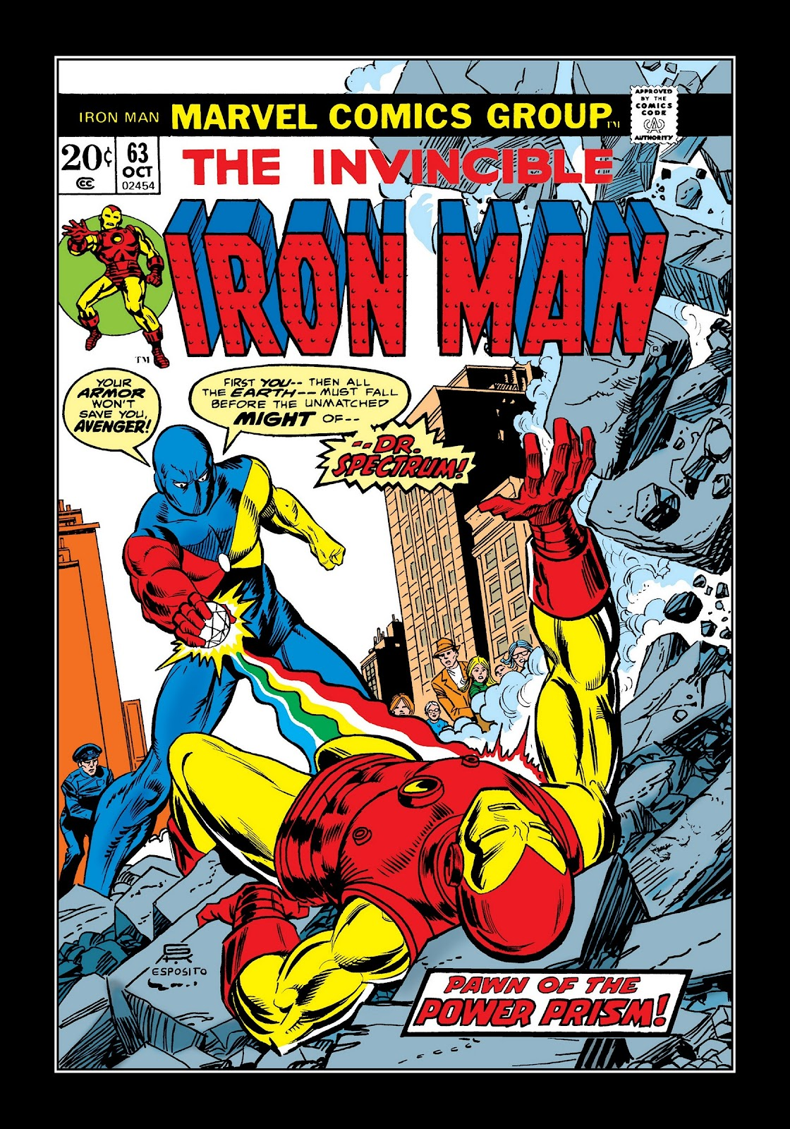 Read online Marvel Masterworks: The Invincible Iron Man comic -  Issue # TPB 9 (Part 2) - 94