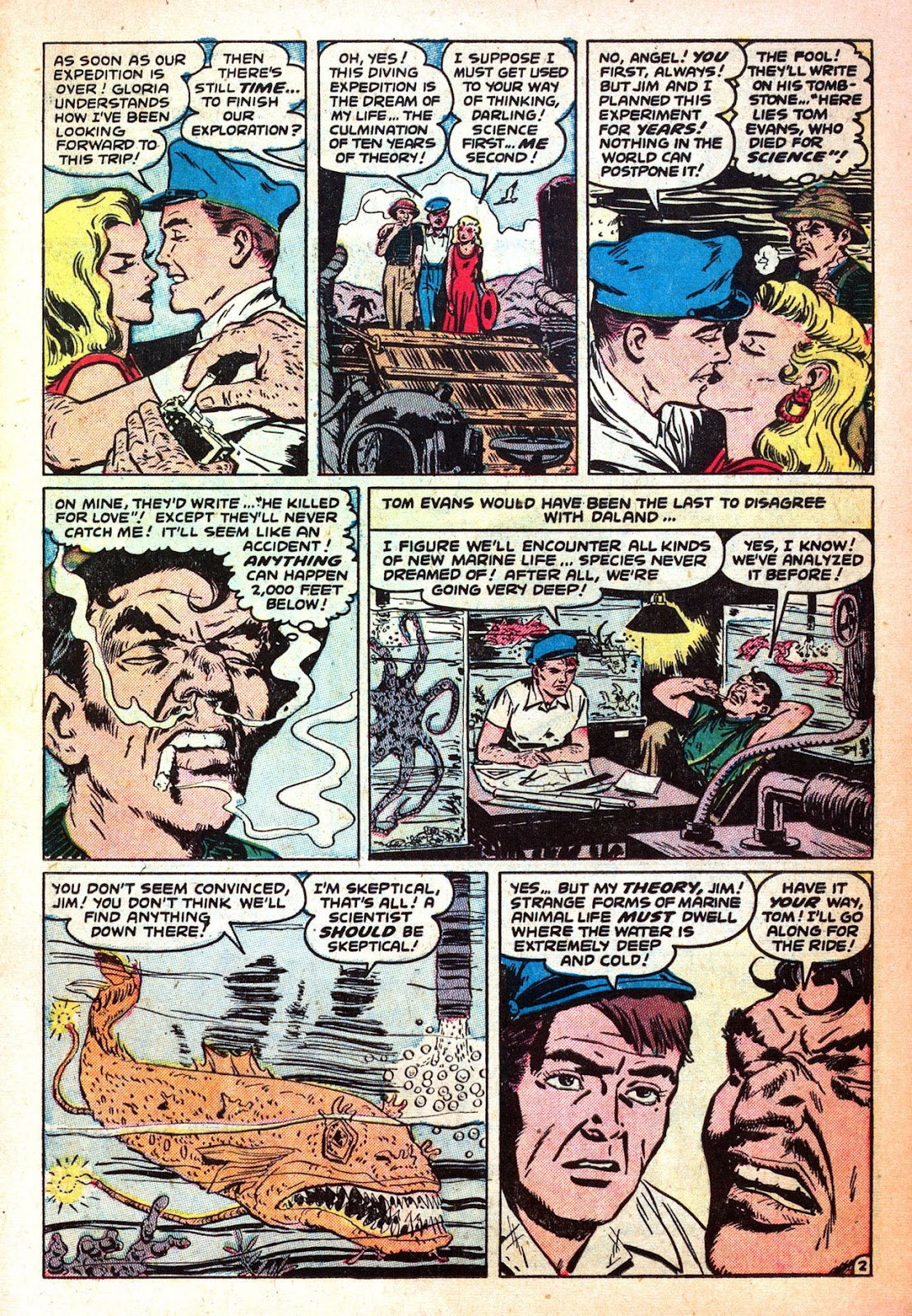 Mystic (1951) issue 32 - Page 11
