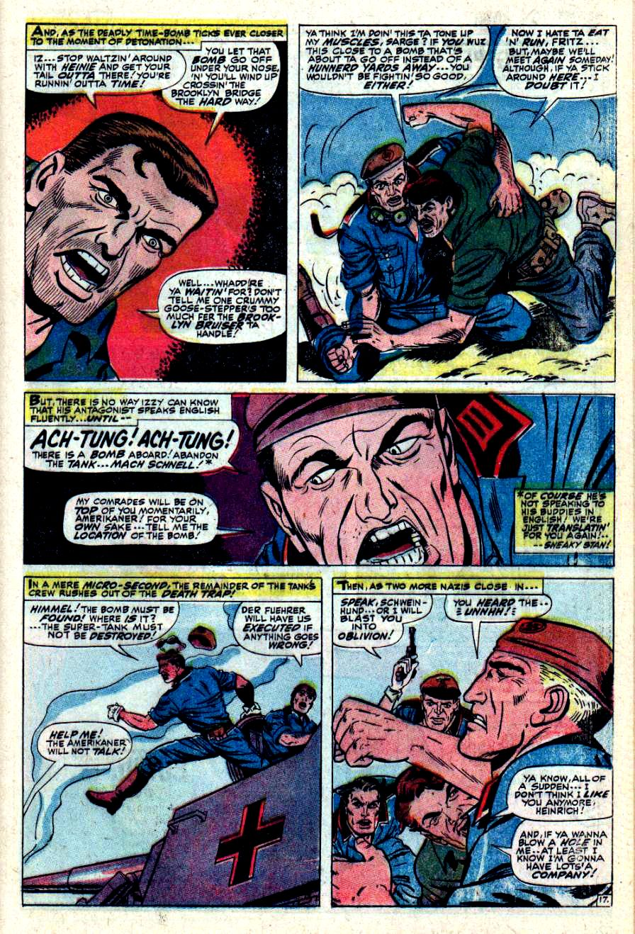 Read online Sgt. Fury comic -  Issue #43 - 25