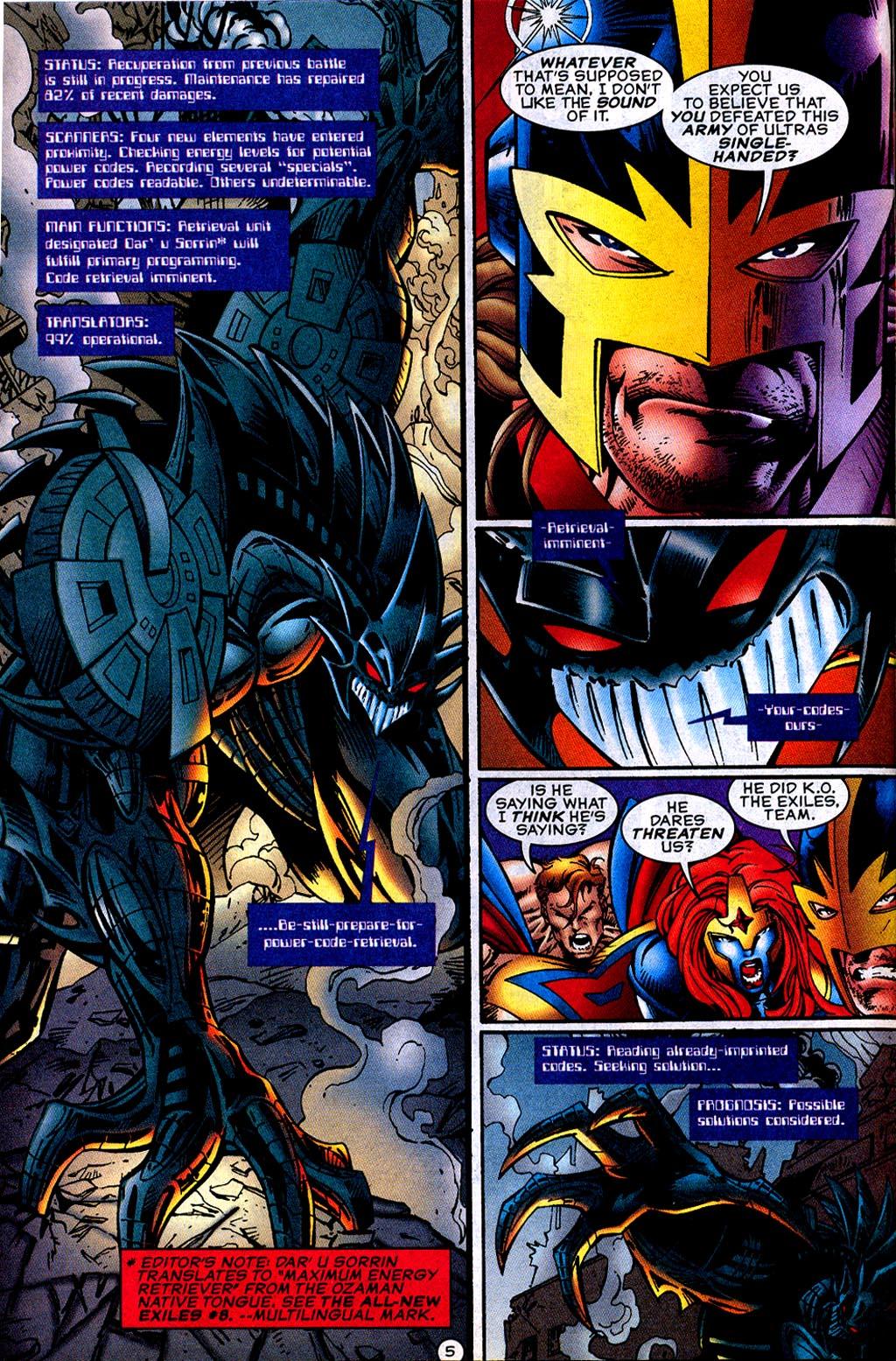 Read online UltraForce (1995) comic -  Issue #12 - 7