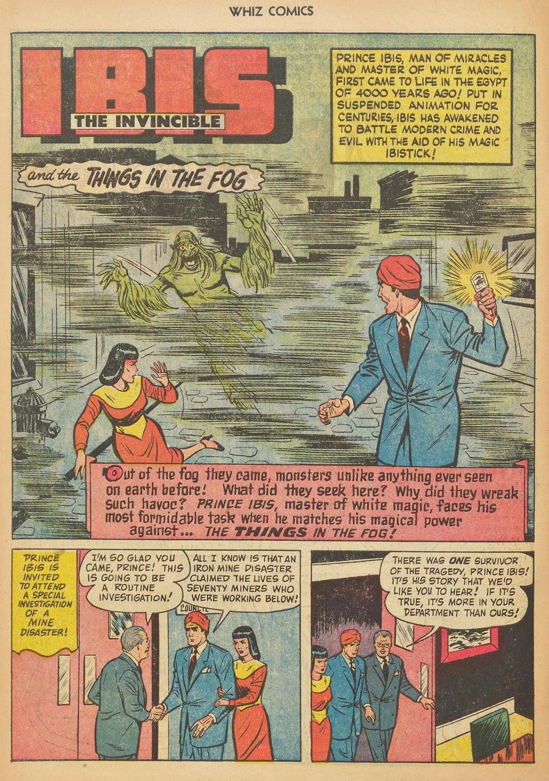 Read online WHIZ Comics comic -  Issue #153 - 10