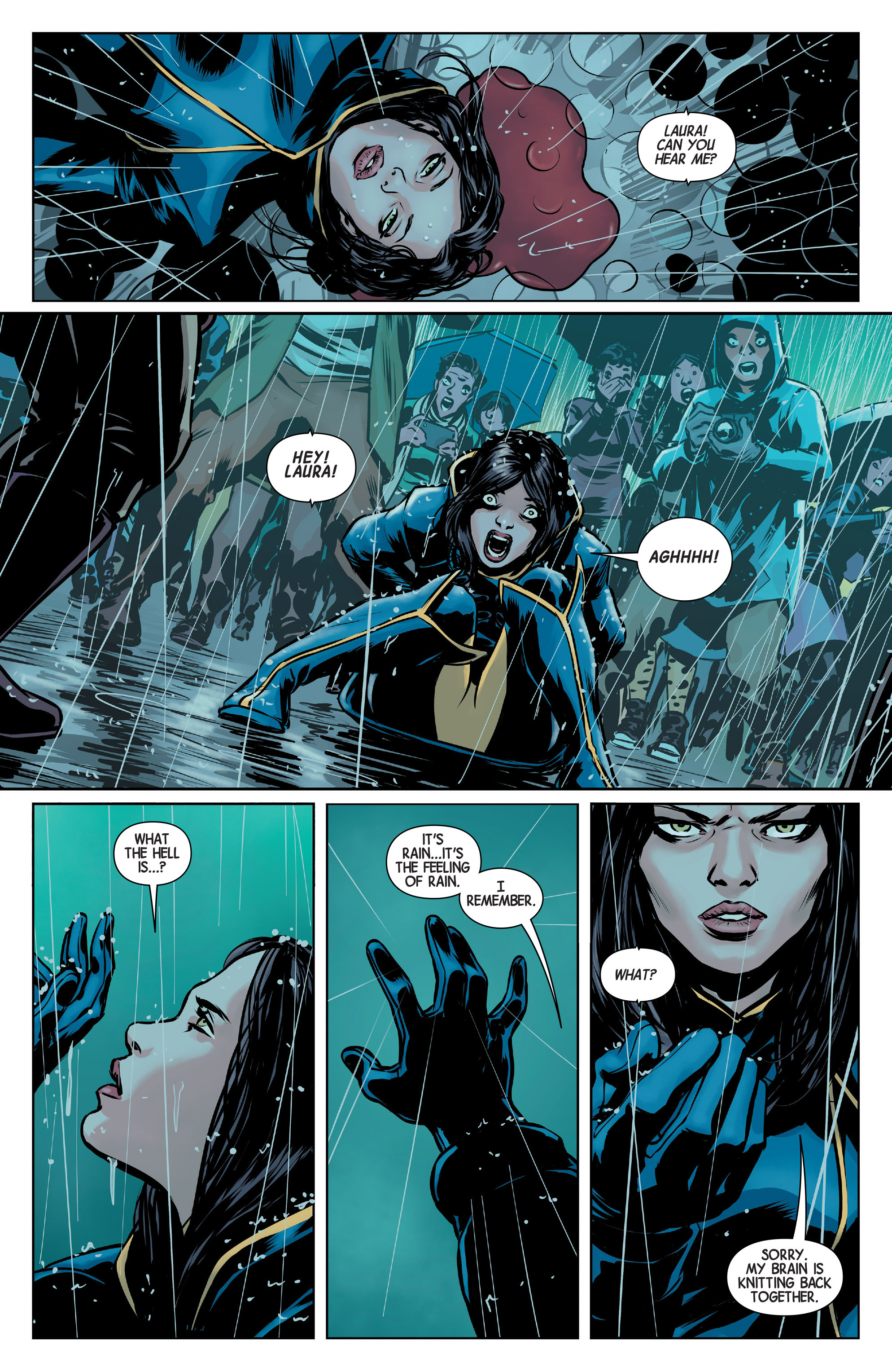Read online All-New Wolverine (2016) comic -  Issue #1 - 10