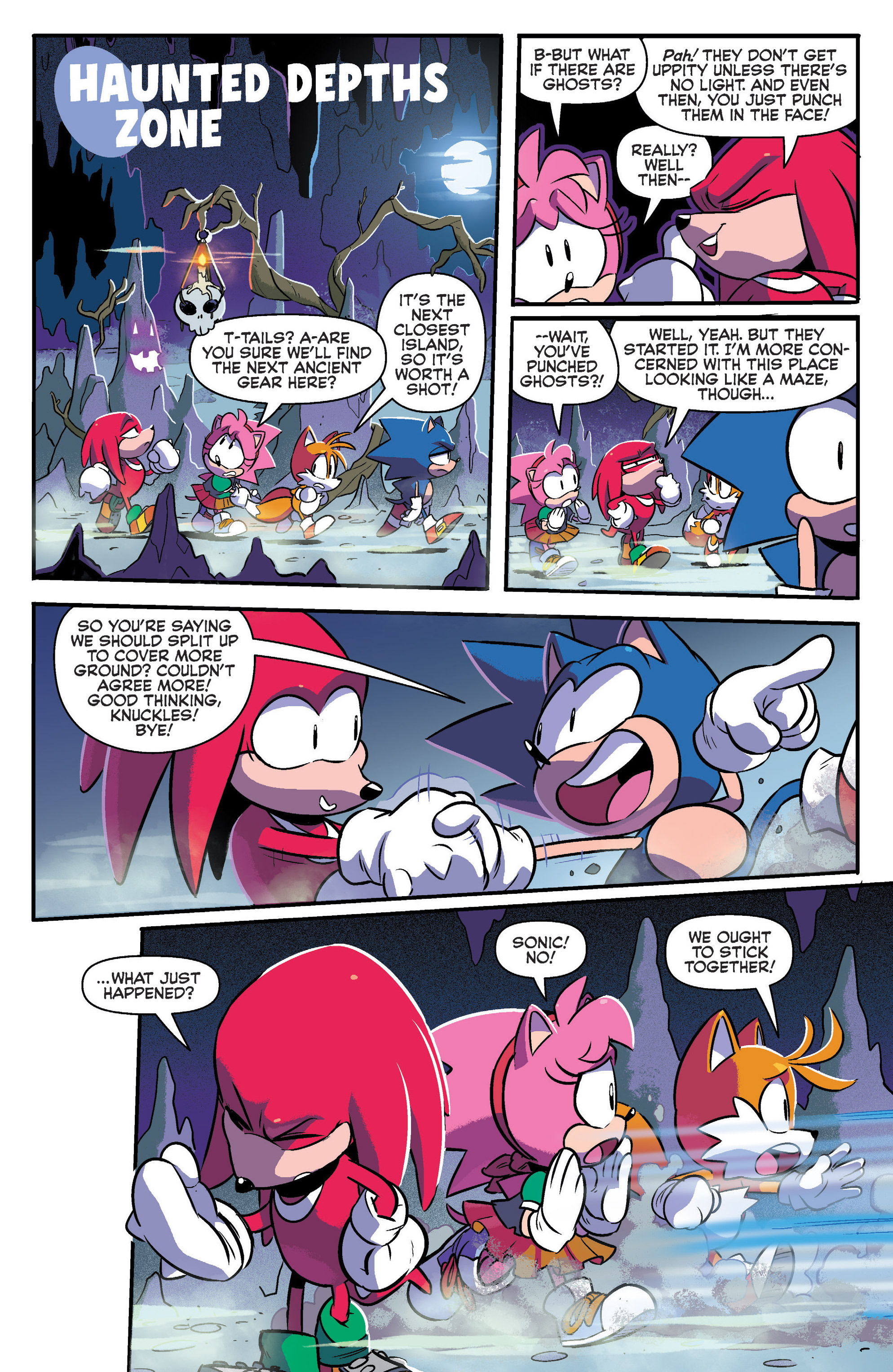Read online Sonic: Mega Drive - The Next Level comic -  Issue # Full - 8