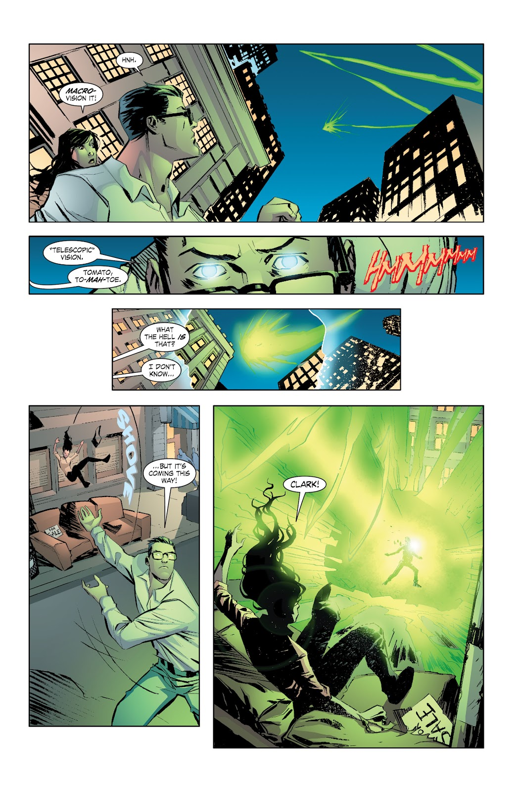 Read online Smallville Season 11 [II] comic -  Issue # TPB 7 - 13