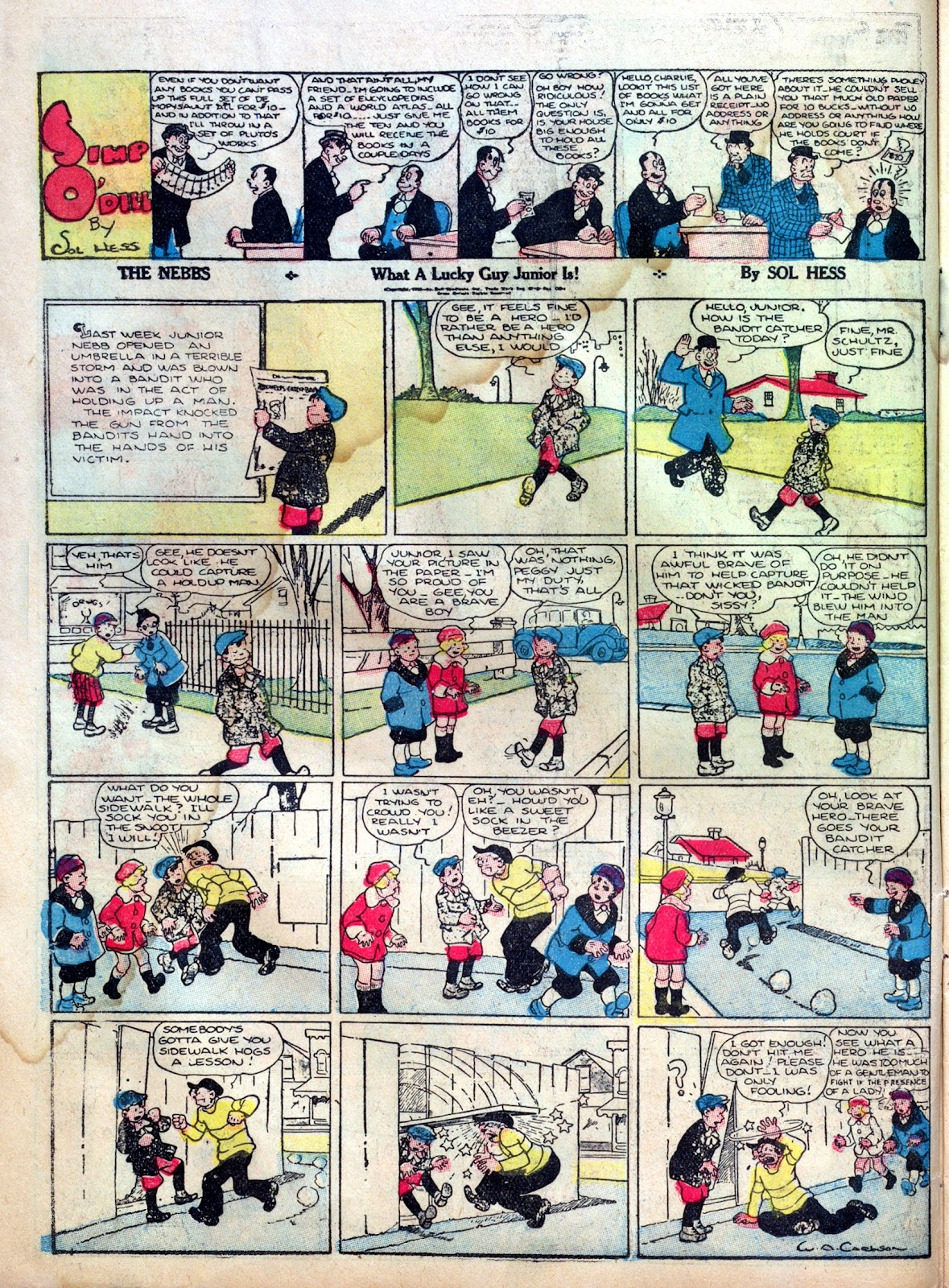 Read online Famous Funnies comic -  Issue #1 - 26